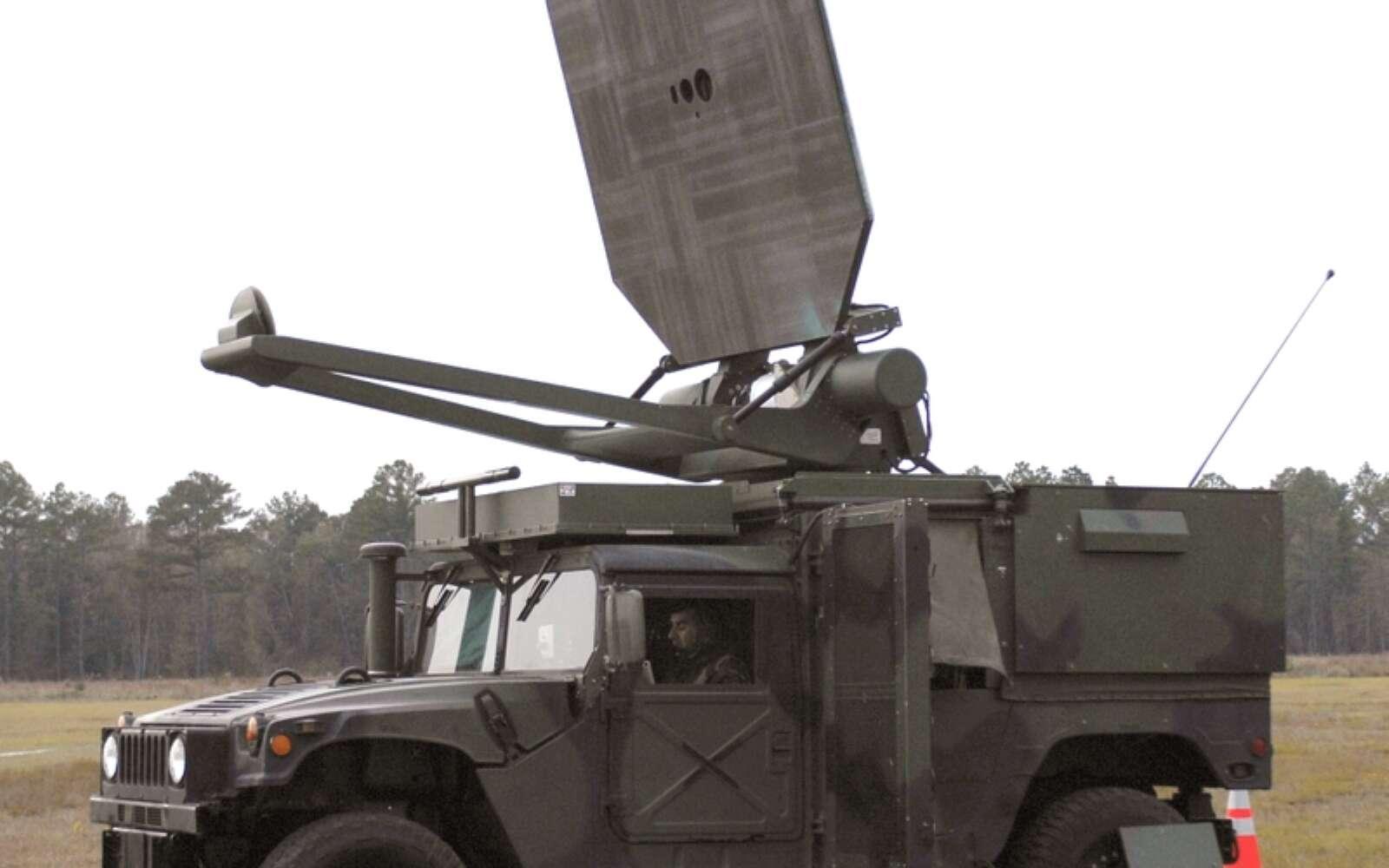 Arme acoustique de l'armée américaine utilisée dès les années 1970. Image d'illustration. © US Army