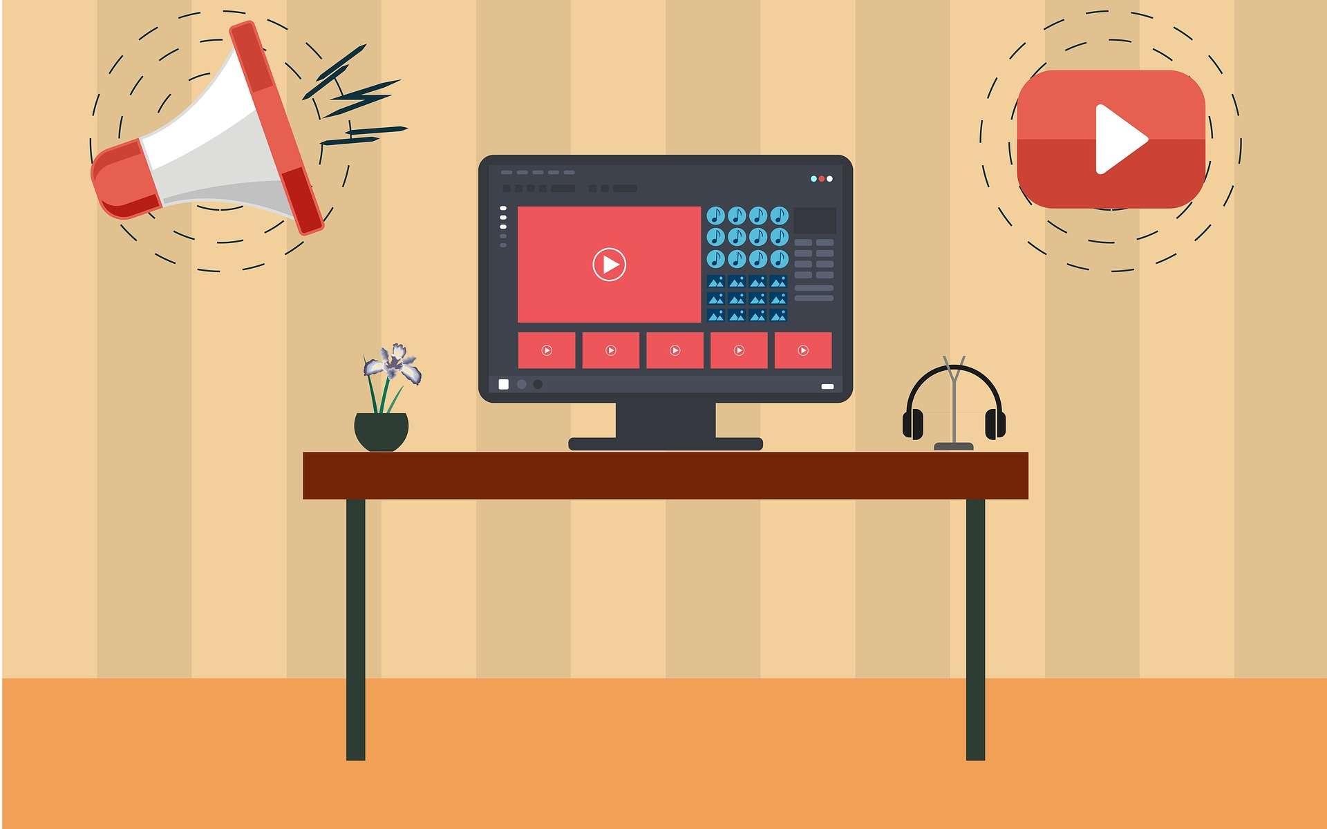 Lorsqu'on est scientifique, se lancer sur YouTube ne comporte que des avantages en matière de communication. © kreatikar, pixabay.com