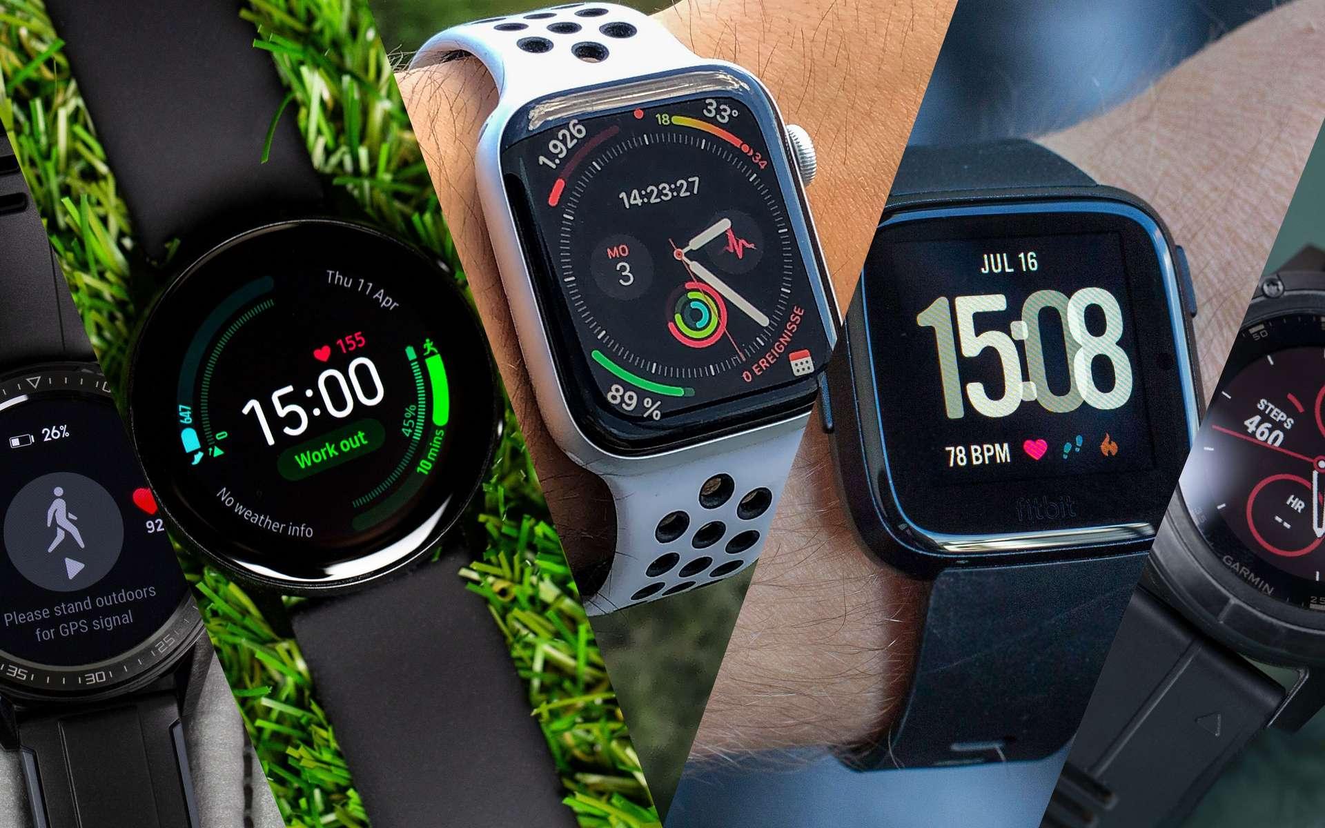Soldes d'hiver 2021 : les meilleures réductions de montres connectées © AndroidPit