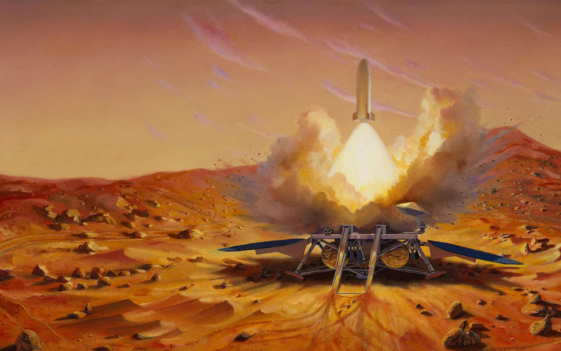 Les incertitudes sur les futurs budgets de la Nasa contraignent l'agence spatiale américaine à redéfinir ses priorités et réduire ses ambitions martiennes. © Nasa, JPL, Caltech Image