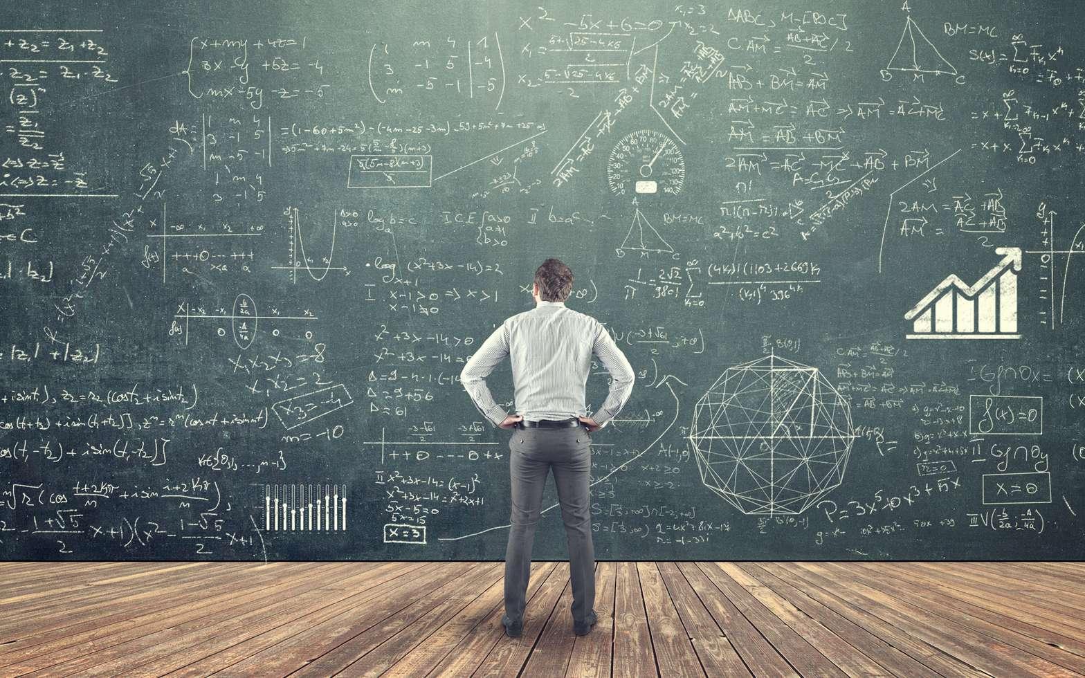 Les mathématiques ne sont pas également comprises par tout le monde. Mais avec un peu d'électricité, certains pourront peut-être rattraper leur retard. © allvision, Fotolia