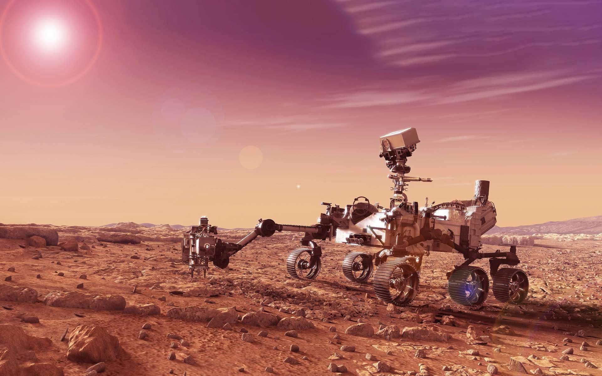 Des chercheurs affirment avoir des preuves que des champignons poussent sur Mars. Et ce n'est pas la première fois. Mais lesdites preuves semblent bien fragiles. © Artsiom P, Adobe Stock