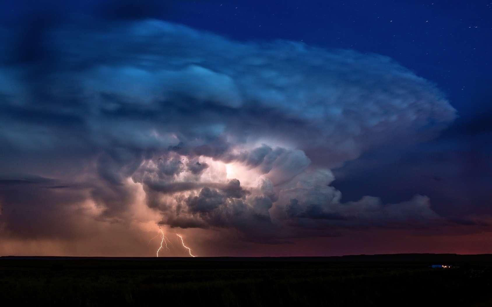 Un cumulonimbus. © parudox, Flickr by-nc 3.0