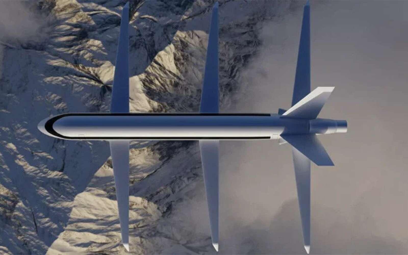 Le SE200 serait bien plus performant que n'importe quel avion de ligne actuel avec ses trois ailes ultrafines. © SE Aeronautics