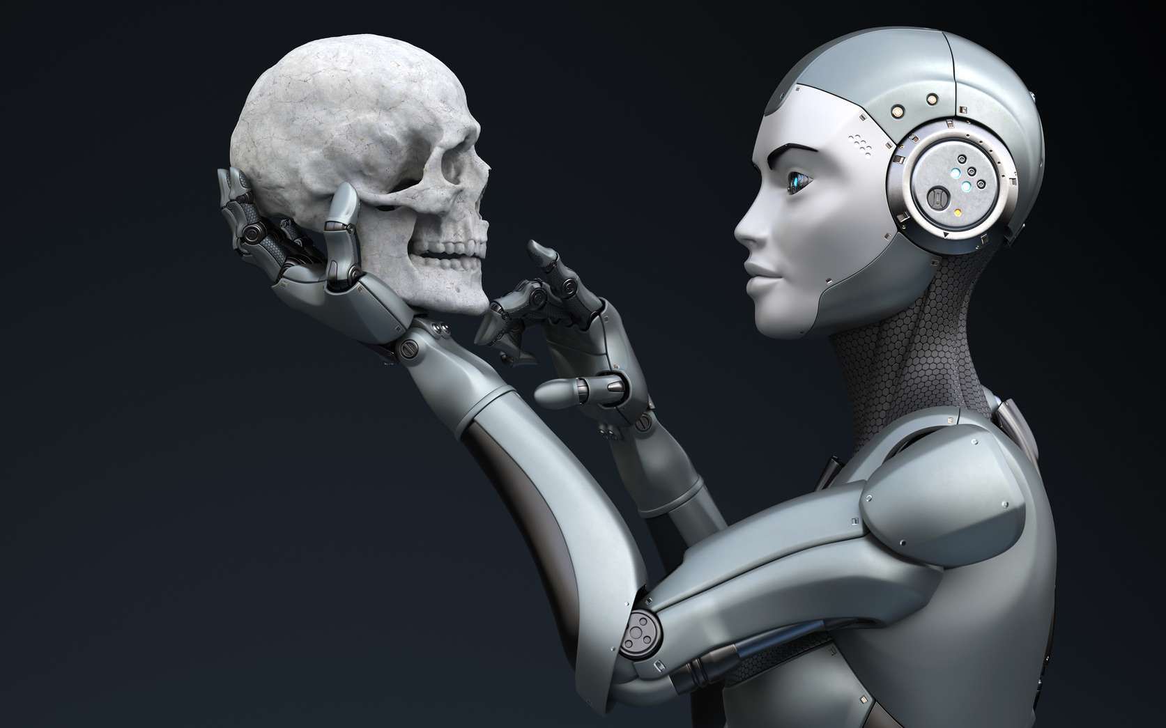 Les robots ont pour principe de ne jamais blesser un humain. Mais quelle est la définition exacte d'un être humain ? © Tatiana Shepeleva, Fotolia