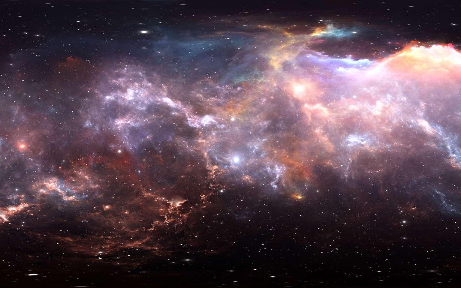 Des chercheurs de l'observatoire astronomique national du Japon voient dans les jets de plasma émis par les trous noirs supermassifs actifs, des outils pour explorer les puissants champs magnétiques au cœur des amas de galaxies. © Peter Jurik, Adobe Stock