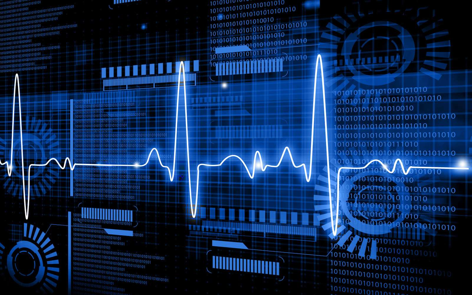 Les battements de cœur comme alternative à la reconnaissance faciale. © bluebay2014, Fotolia