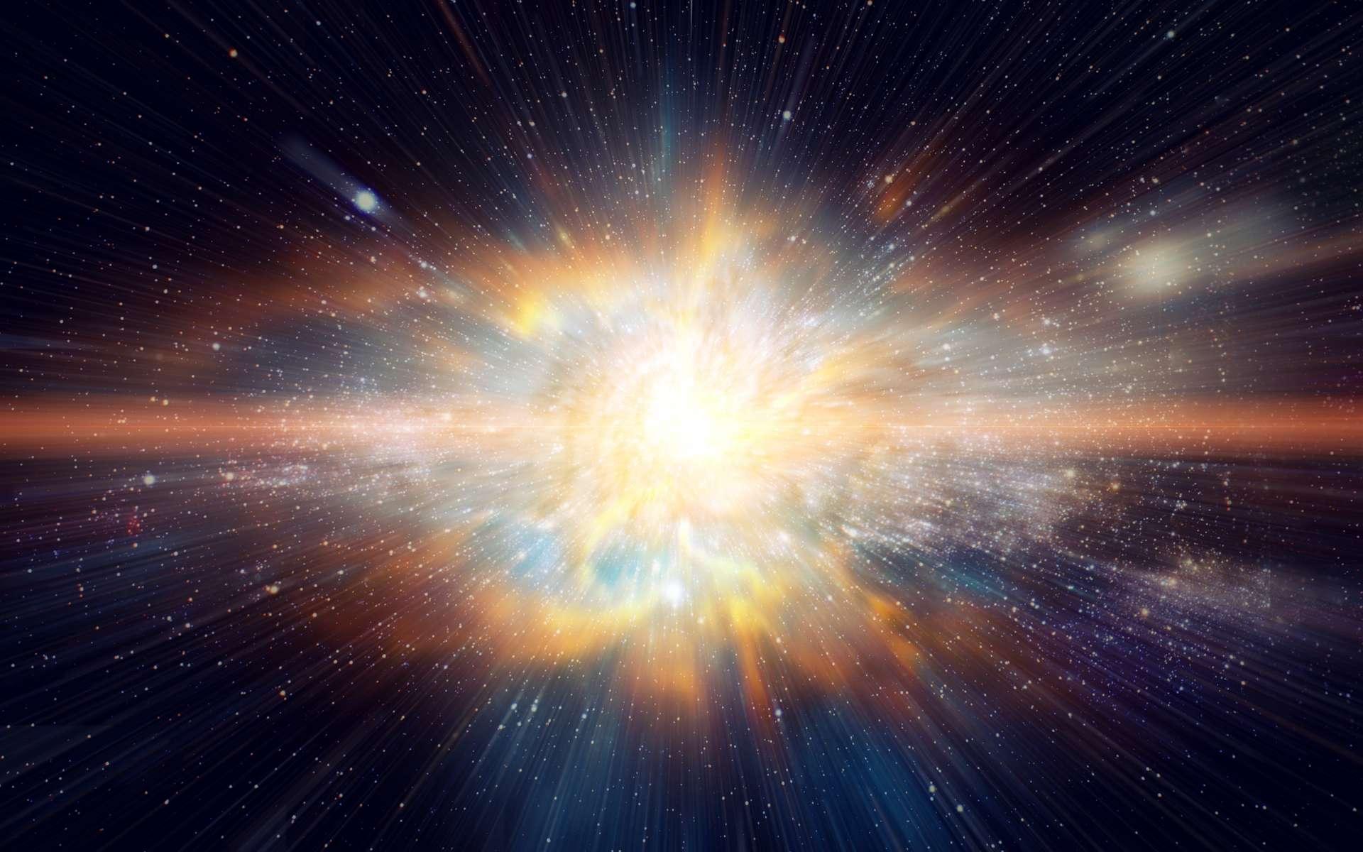 Des astronomes ont enregistré les rayons gamma les plus énergétiques jamais issus de sursauts gamma. © Korn V., Adobe Stock