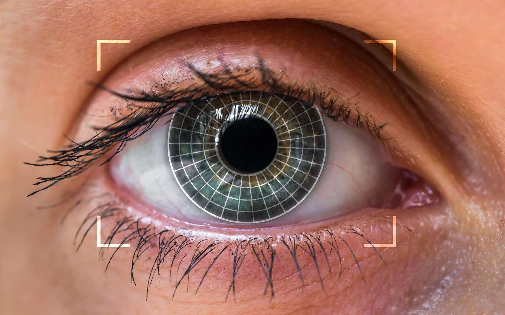 À l'aide d'un biomicroscope qui déploie une lumière fluorescente sur la lentille de l'œil, on pourrait diagnostiquer le diabète en mesurant le taux de produits de glycation avancée. © adriano_cz, Fotolia