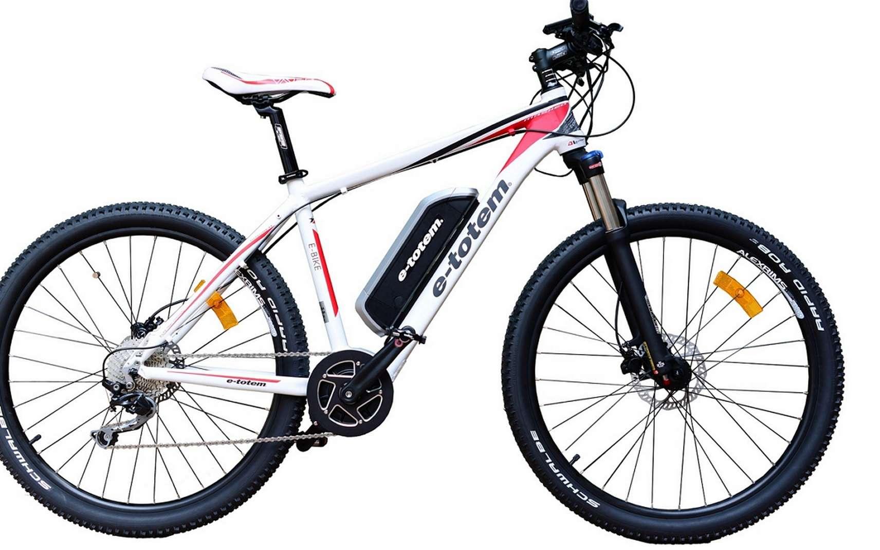VTT électrique © bicicleta, Pixabay