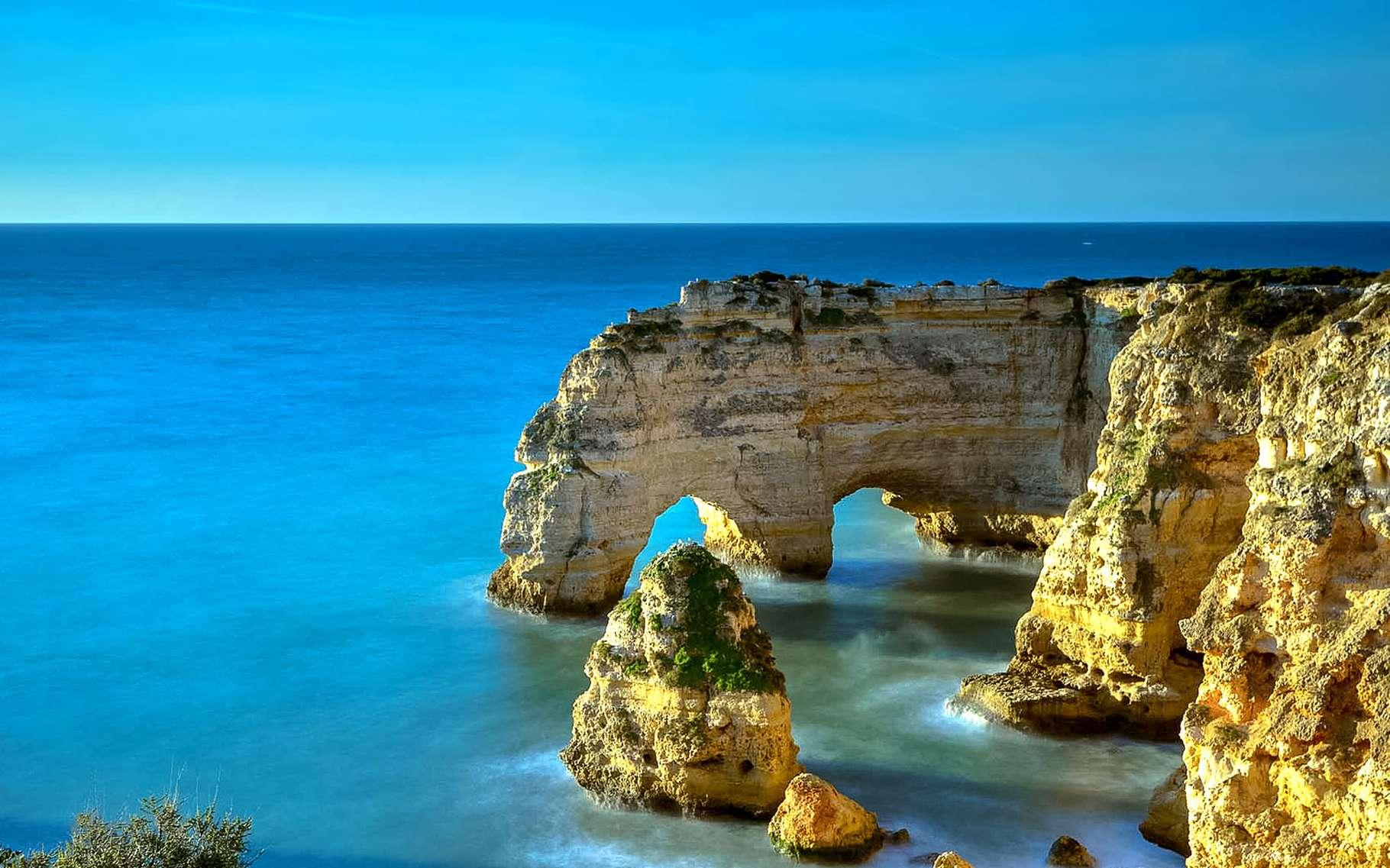 La superbe côte atlantique du Portugal, face à l'océan. © DR