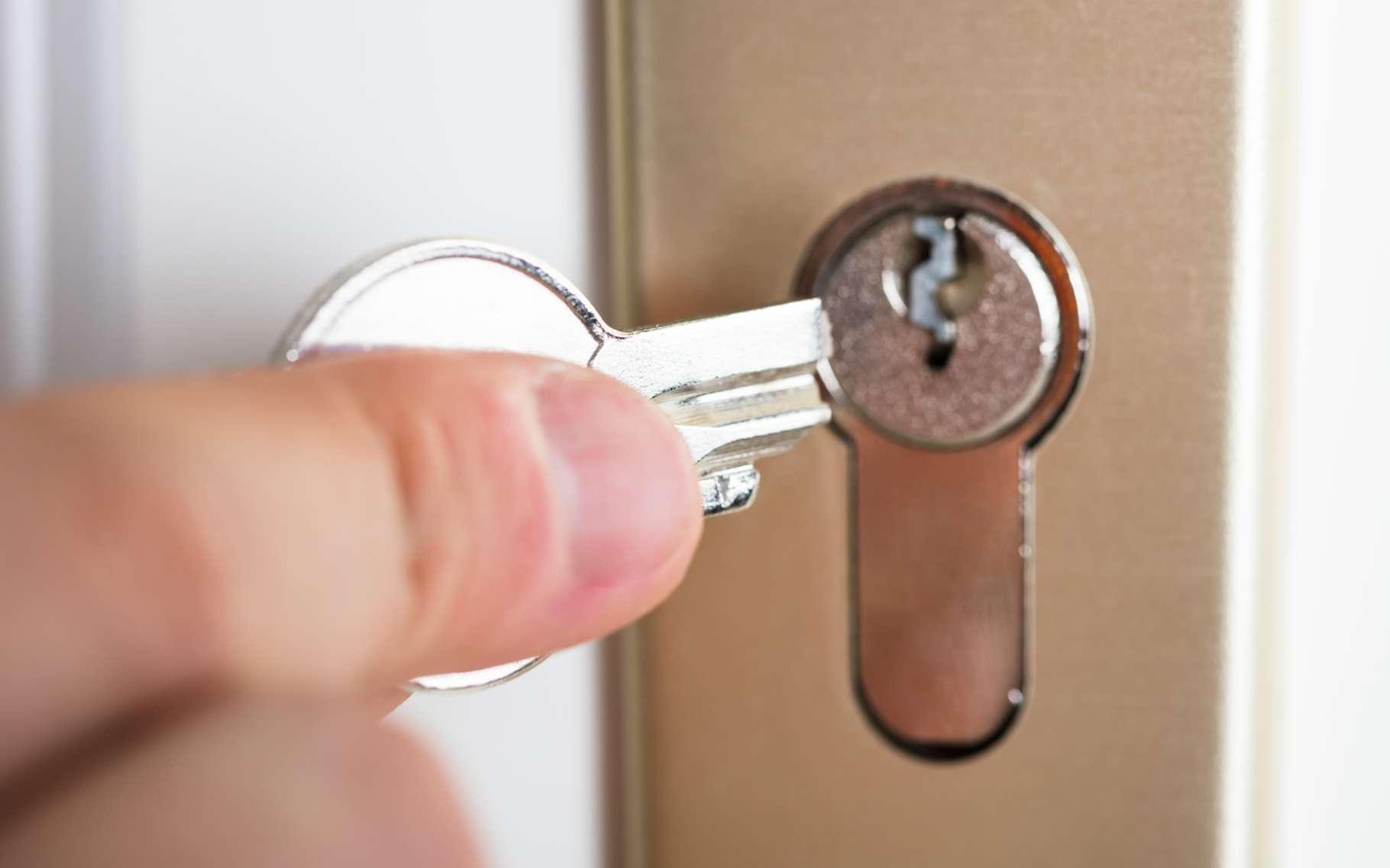 Une clé cassée dans une serrure peut être sortie, mais mieux vaut souvent changer le barillet. © Andrey Popov, Fotolia