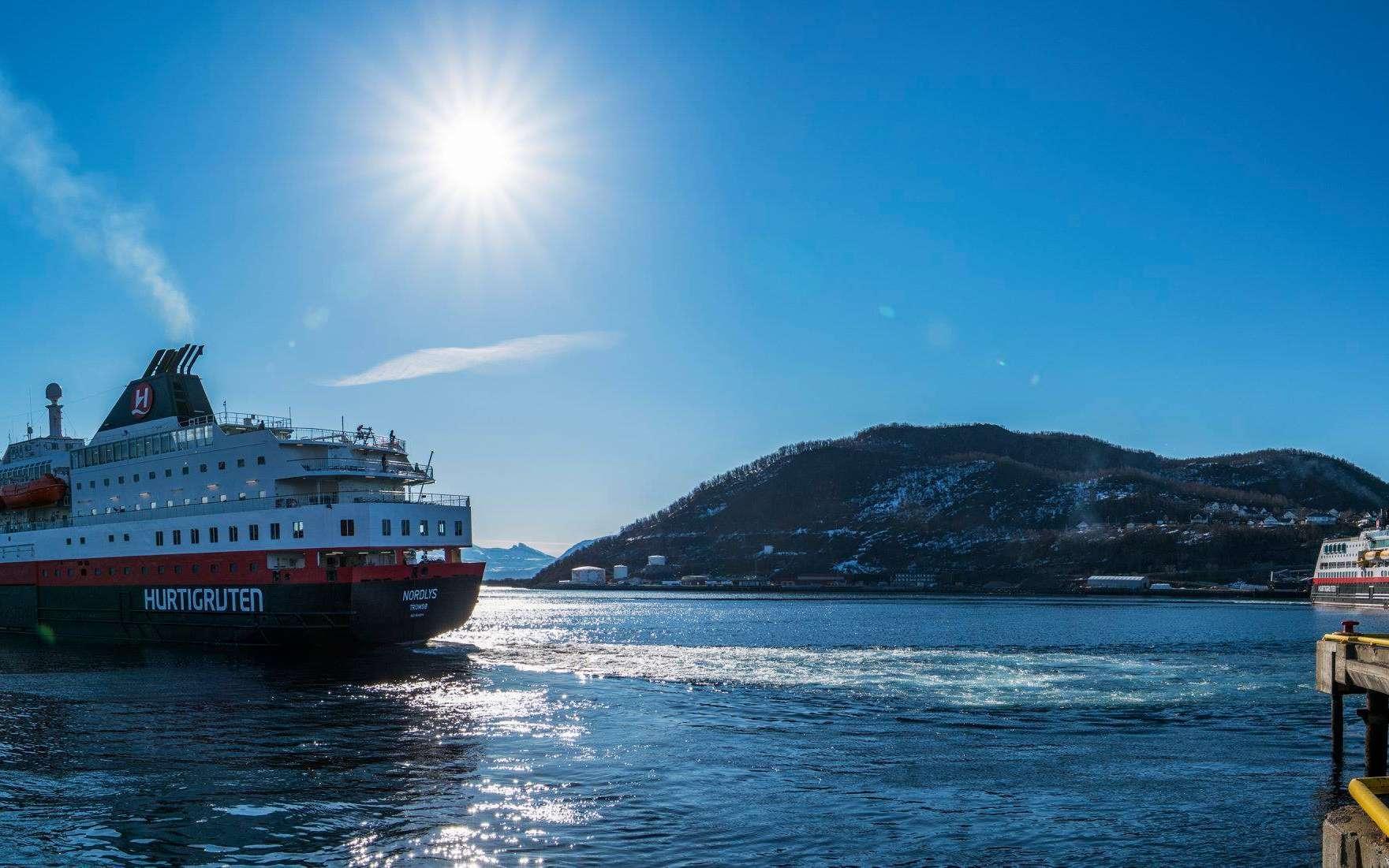 Hurtigruten va faire naviguer ses navires aux déchets de poissons. © Harald Mikal Halvorsen, Facebook
