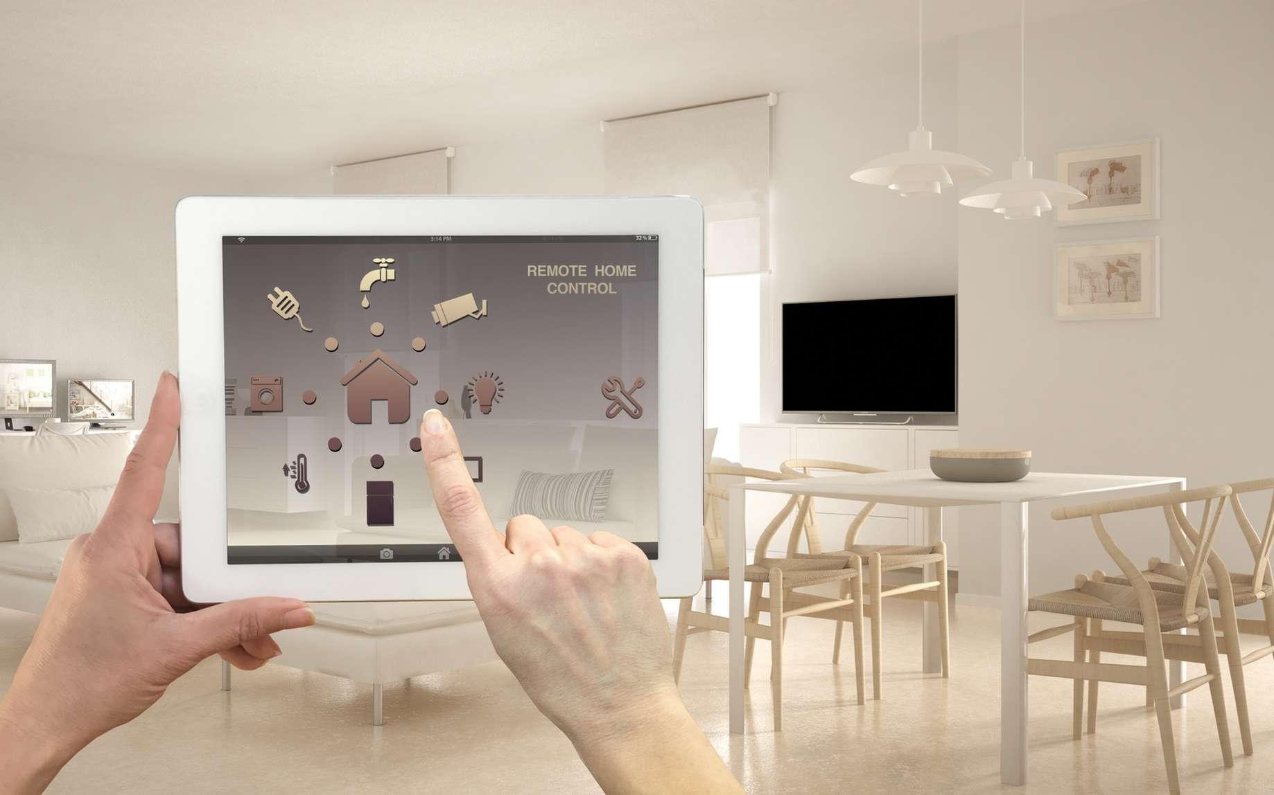 Les maisons sont de plus en plus équipées d'un réseau multimédia. © Fotolia