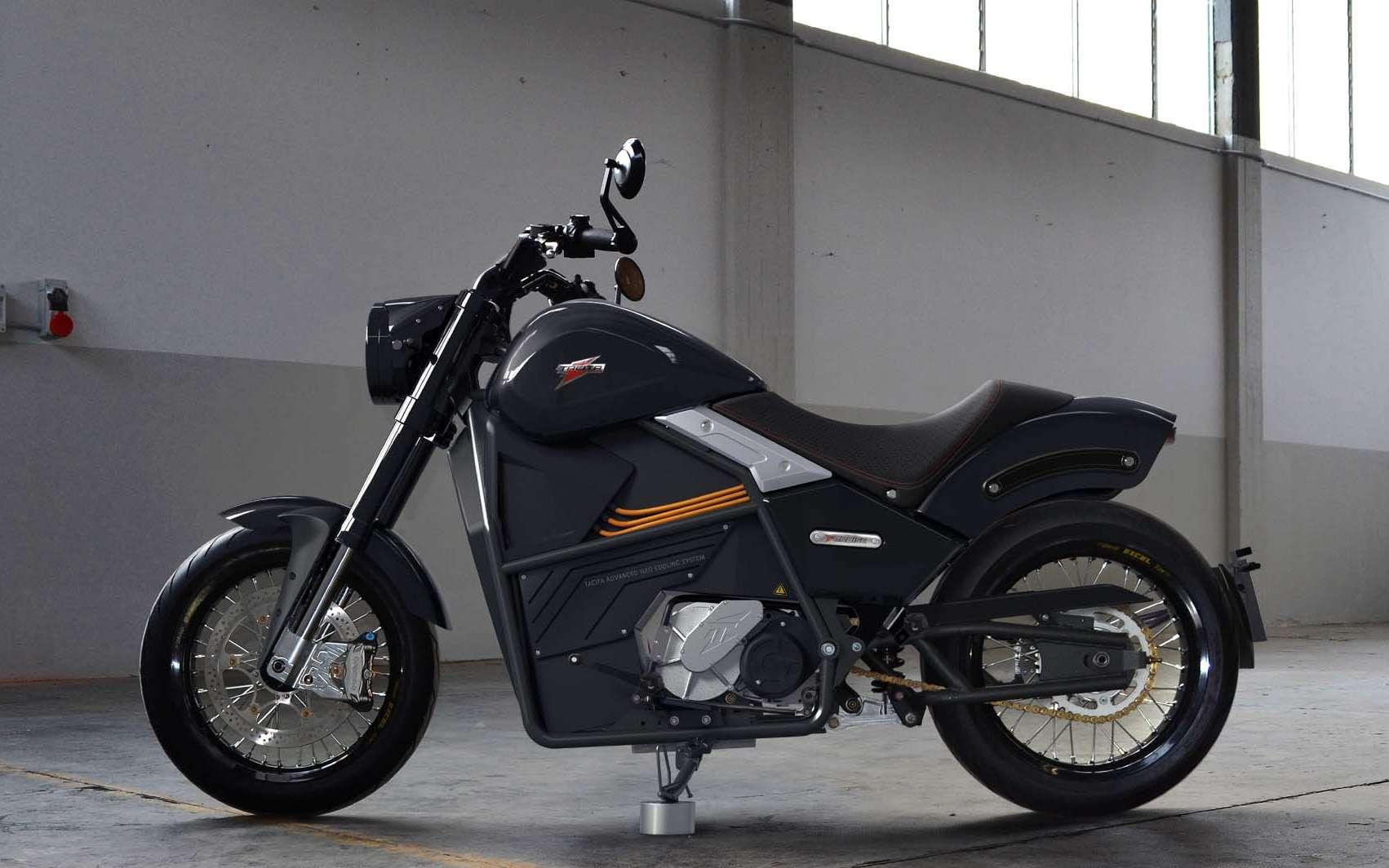 Le style de la Tacita T-Cruise Urban n'est pas sans rappeler celui de la Harley-Davidson LiveWire. © Tacita