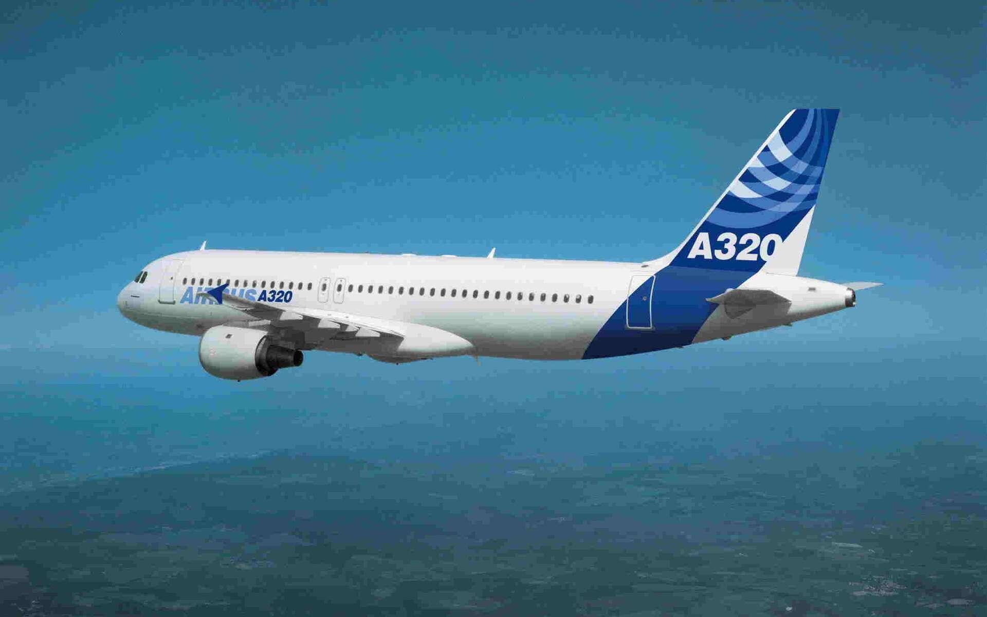 L'Airbus A320, un biréacteur moyen courrier, vendu à plus de trois mille exemplaires. © Airbus