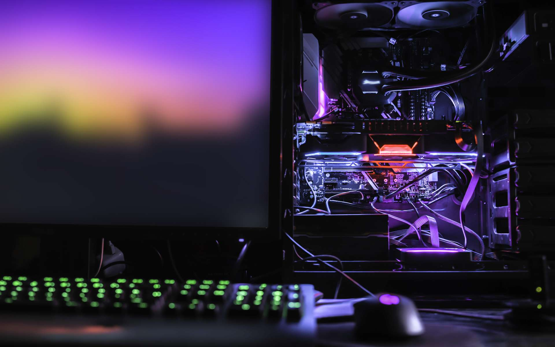 Un PC gamer personnalisé. © filiz, Adobe Stock