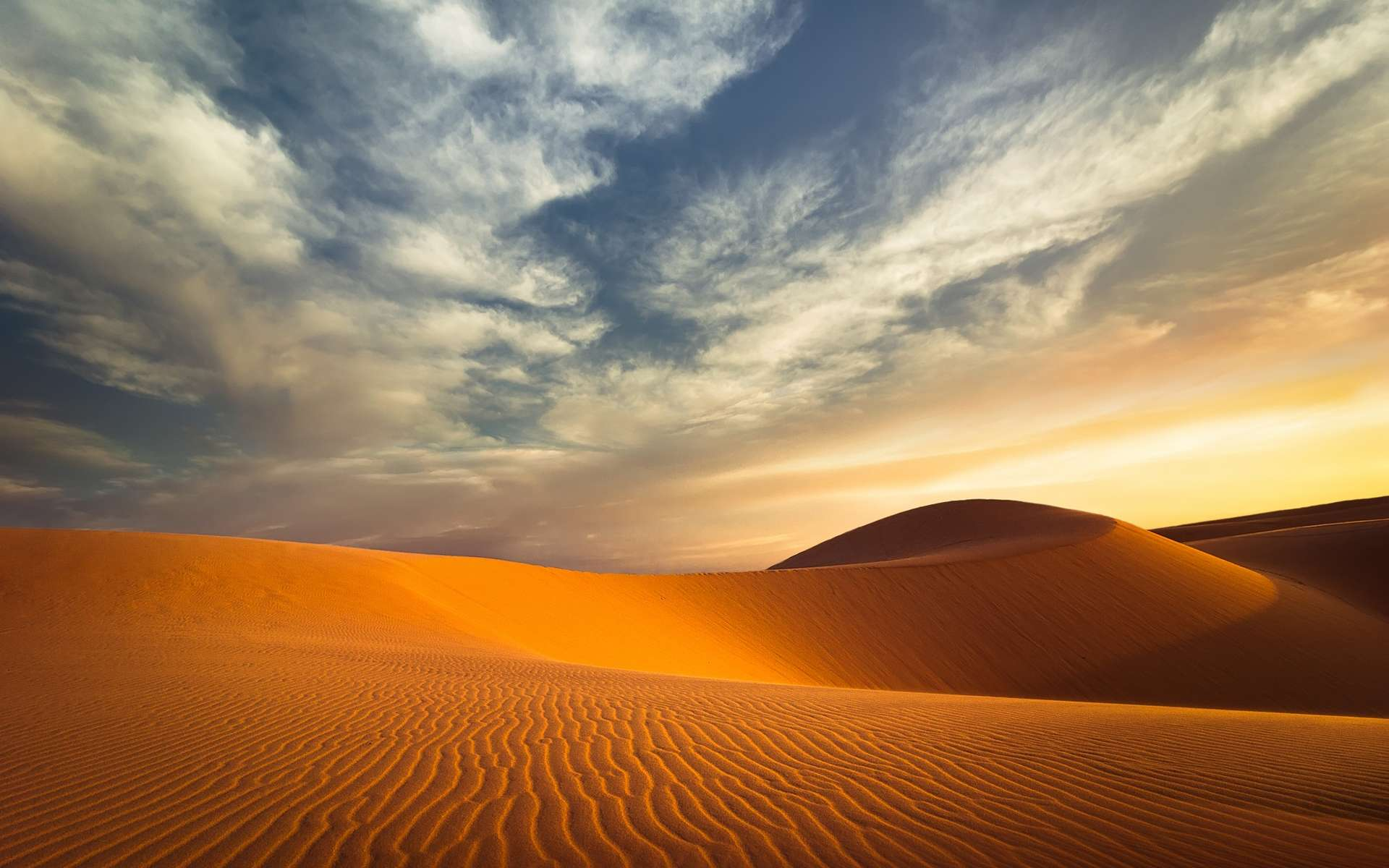 Les émissions de poussières sahariennes ont différents effets, sur la santé humaine mais aussi sur le climat. Ils sont eux-mêmes influencés par de grands phénomènes météorologiques à l'échelle de la planète, comme El Niño. © Perfect Lazybones, Shutterstock