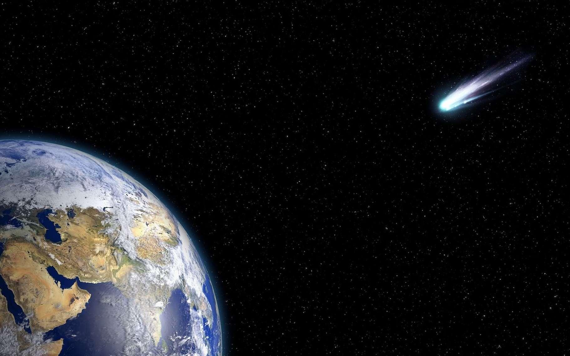 Des chercheurs semblent avoir identifié une région de l'espace qu'ils qualifient de passage par laquelle les comètes passeraient pour atteindre le Système solaire interne. © urikyo33, Fotolia
