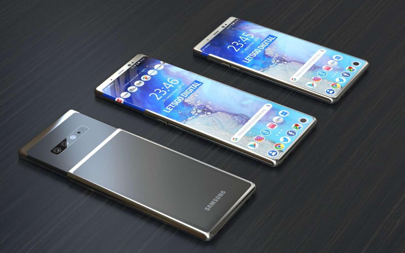 Samsung : un écran enroulable pour le Galaxy S11 Plus ?
