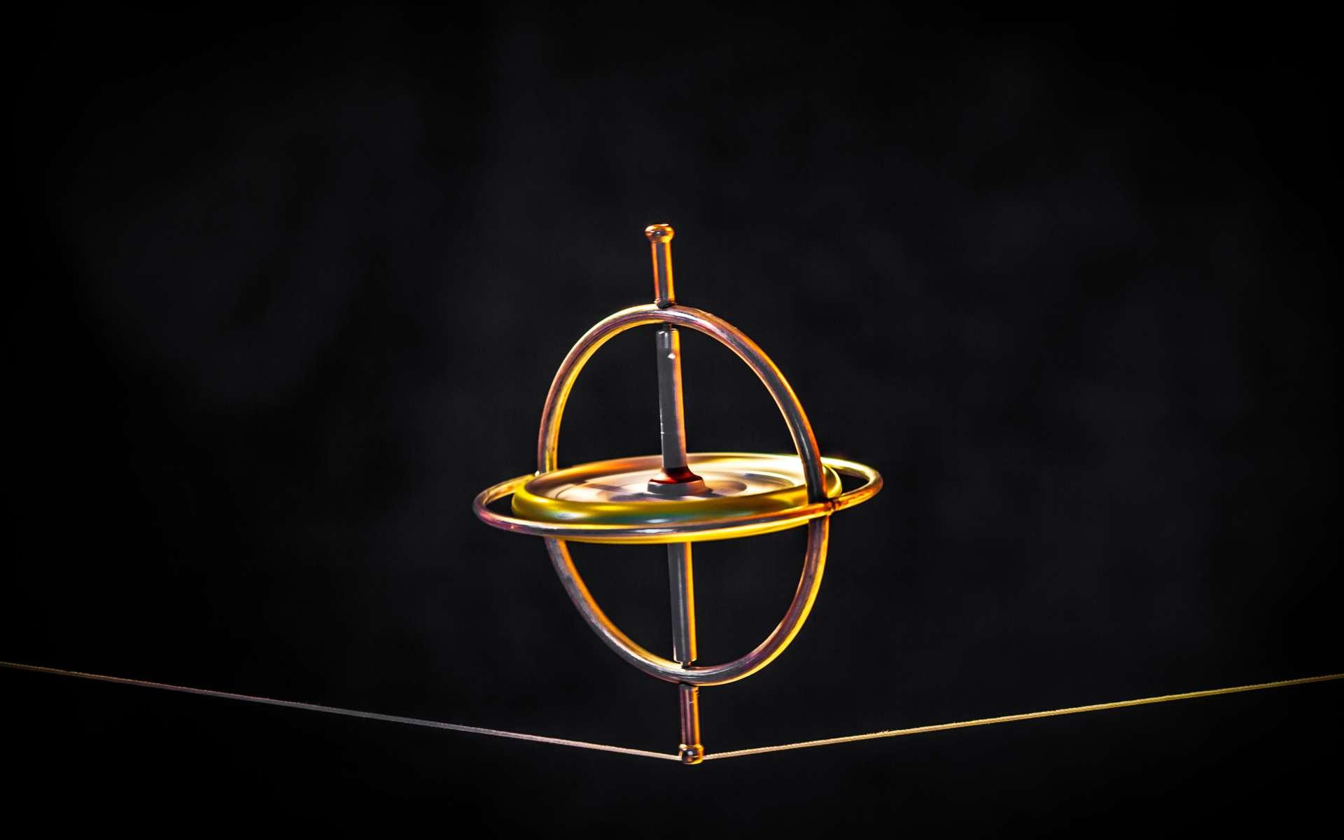 Le physicien Léon Foucault démontre le phénomène des courants magnétiques terrestres et invente le gyroscope. © Tom, Adobe Stock