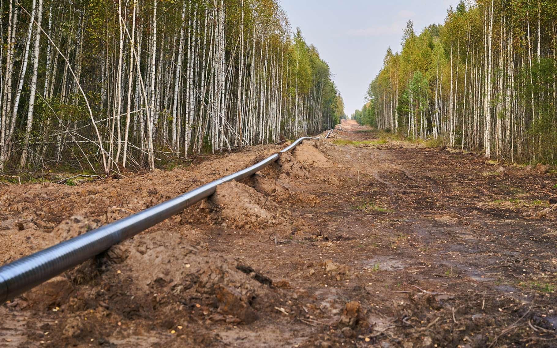 Rien qu'en France, le réseau de transport de gaz naturel fait plus de 32.000 kilomètres de long. © port700, Fotolia
