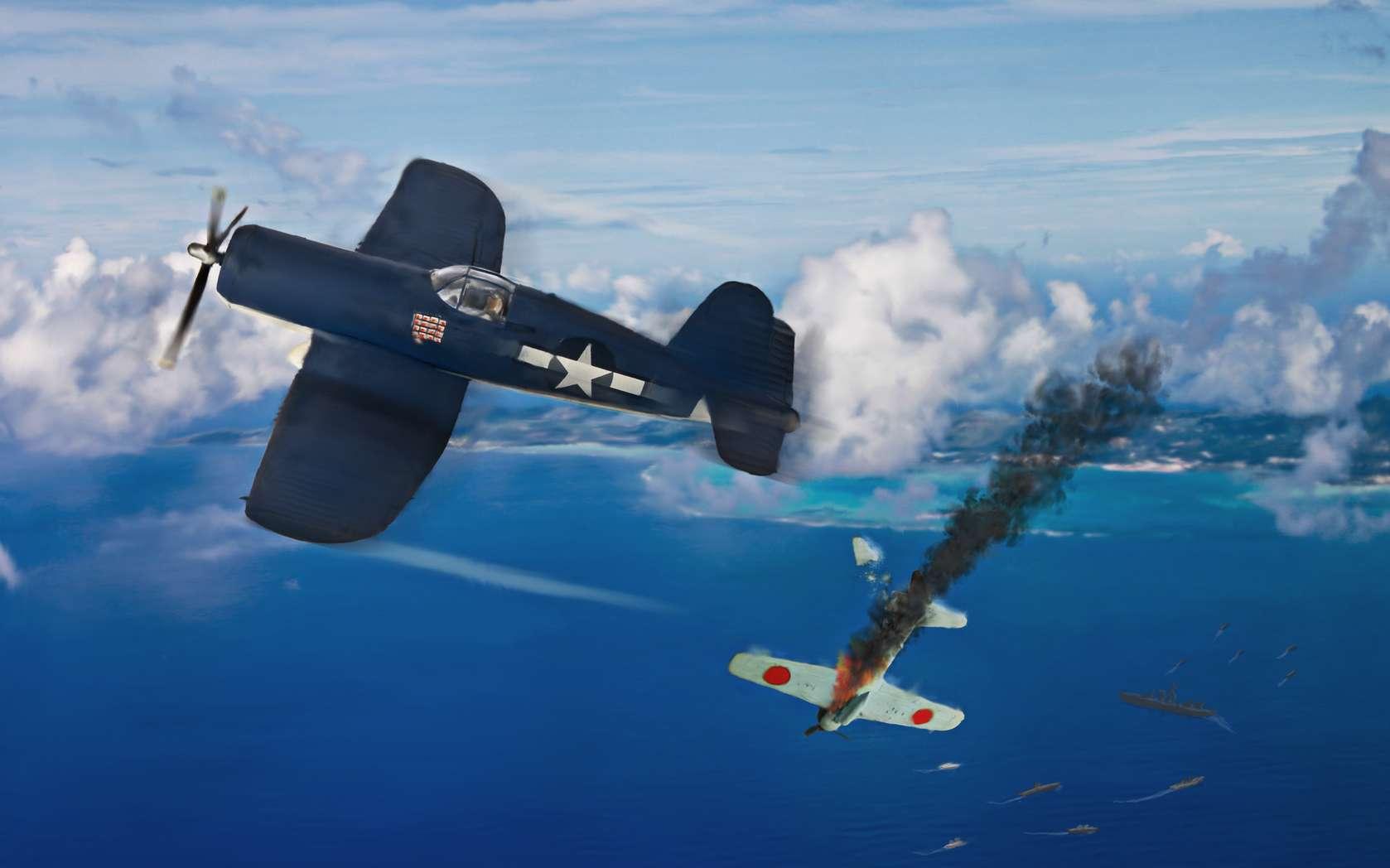 Les États-Unis déclarent la guerre au Japon et aux puissances de l'Axe le 8 décembre 1941. © Keith Tarrier, fotolia