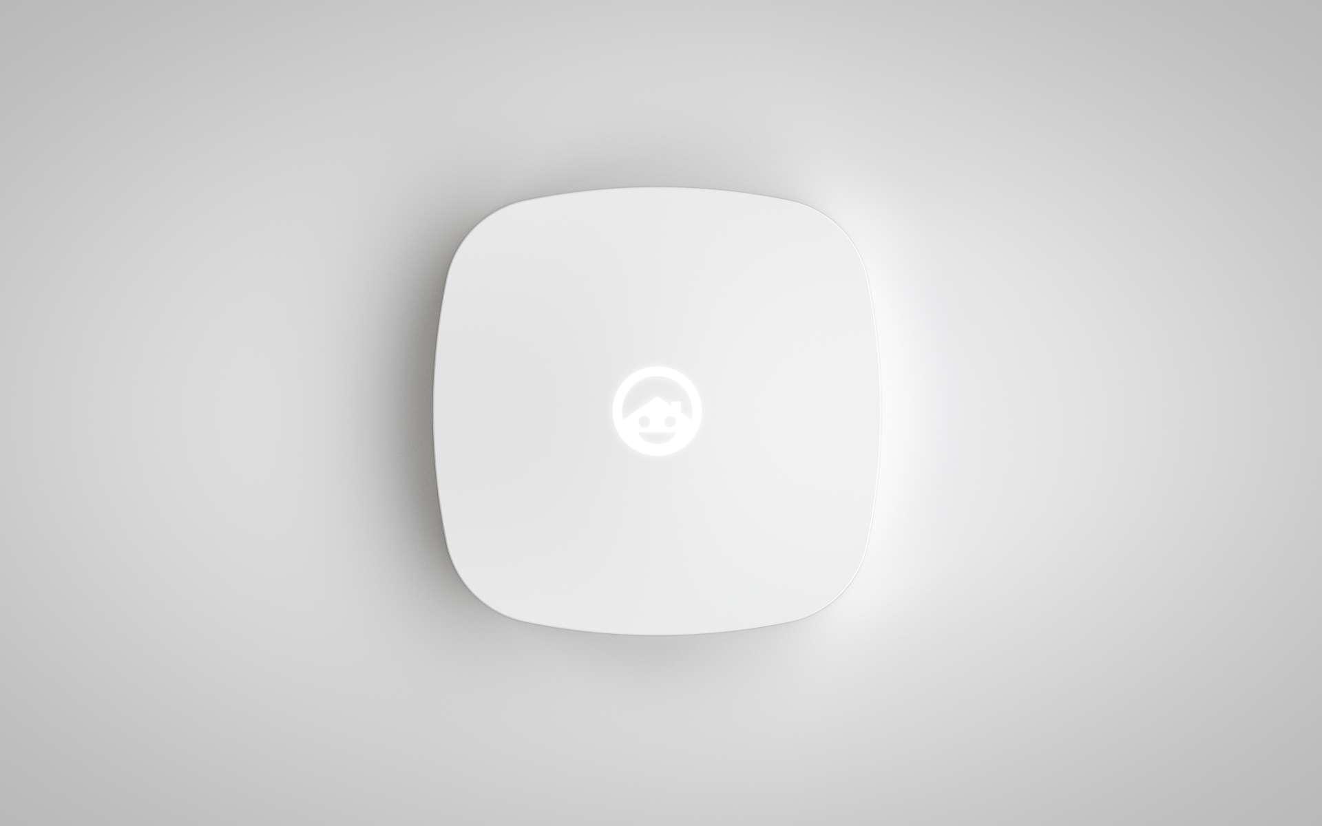 Le boîtier Ecoisme se branche au niveau du tableau électrique. Il analyse le réseau domestique et identifie tous les appareils connectés dont il surveille ensuite la consommation. © Ecoisme