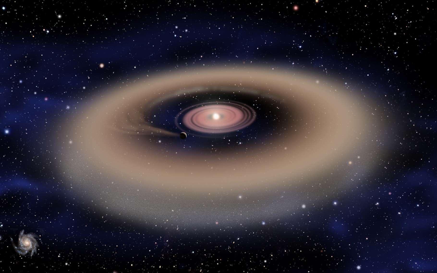 Selon des chercheurs de l'université de Yale (États-Unis), après 'Oumuamua et 2I/Borisov, nous devrions recevoir la visite de nombreux autres objets interstellaires issus des disques protoplanétaires d'étoiles lointaines. © David A. Aguilar, CfA, Wikipedia, Domaine public