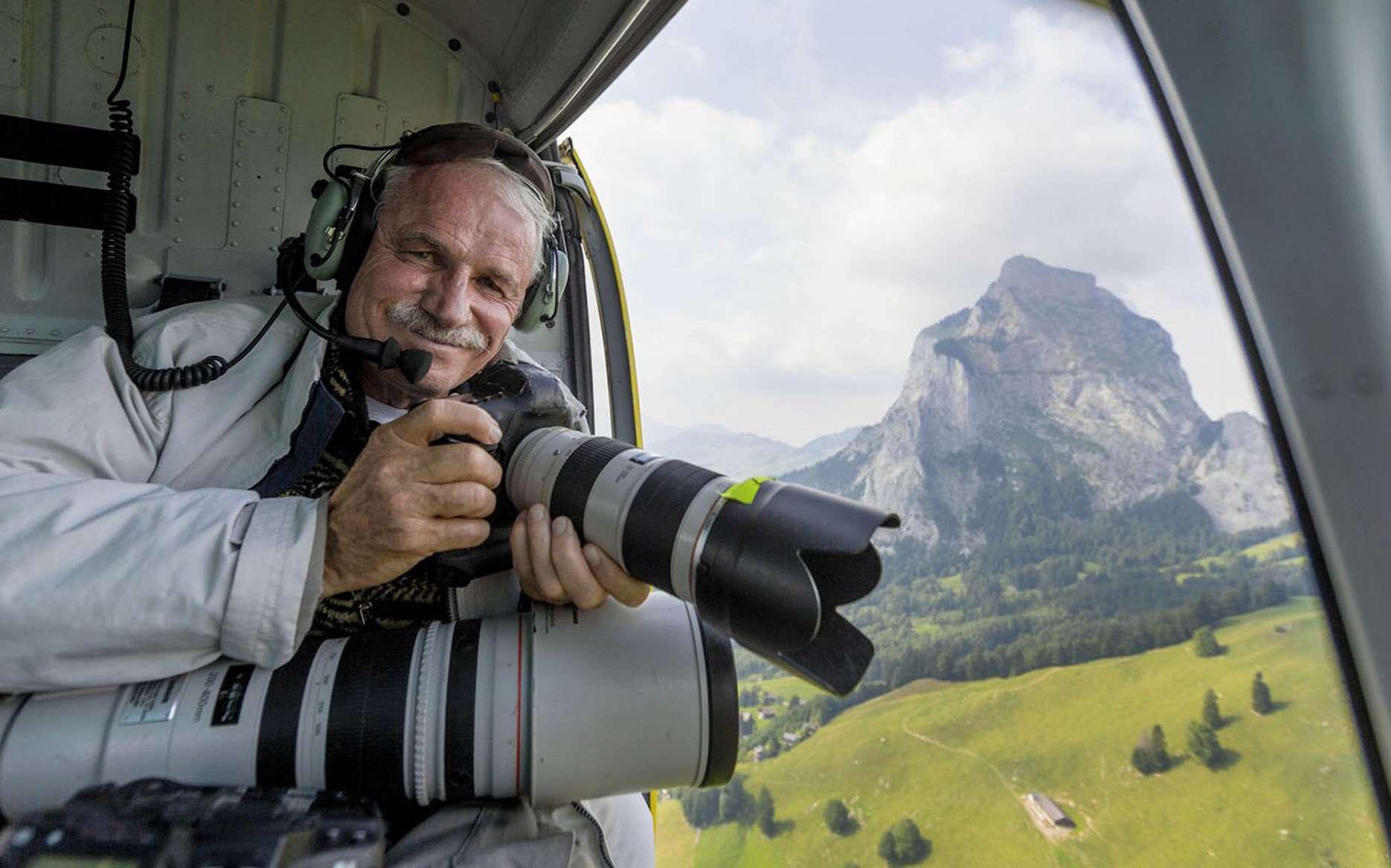 Le photographe Yann Arthus-Bertrand. © Yann Arthus-Bertrand, M6, tous droits réservés