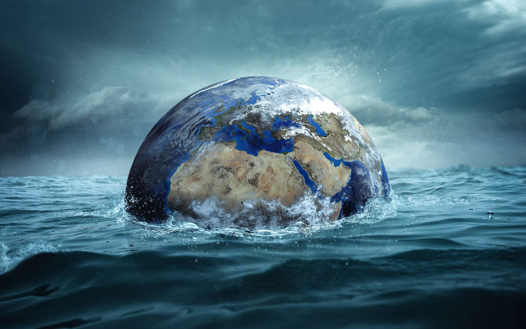 La Terre était noyée sous l'eau il y a 3 milliards d'années - Futura
