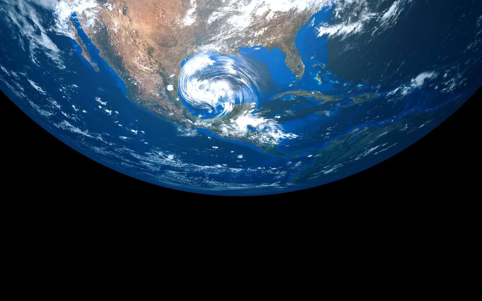 Parfois, les ouragans se renforcent lorsqu'ils atteignent les côtes terrestres. L'humidité des sols ainsi qu'une atmosphère dont la température est homogène permettent à la dépression de pomper suffisamment d'énergie pour se déplacer sur des centaines de kilomètres à l'intérieur des terres. © Sasa Kadrijevic, Fotolia