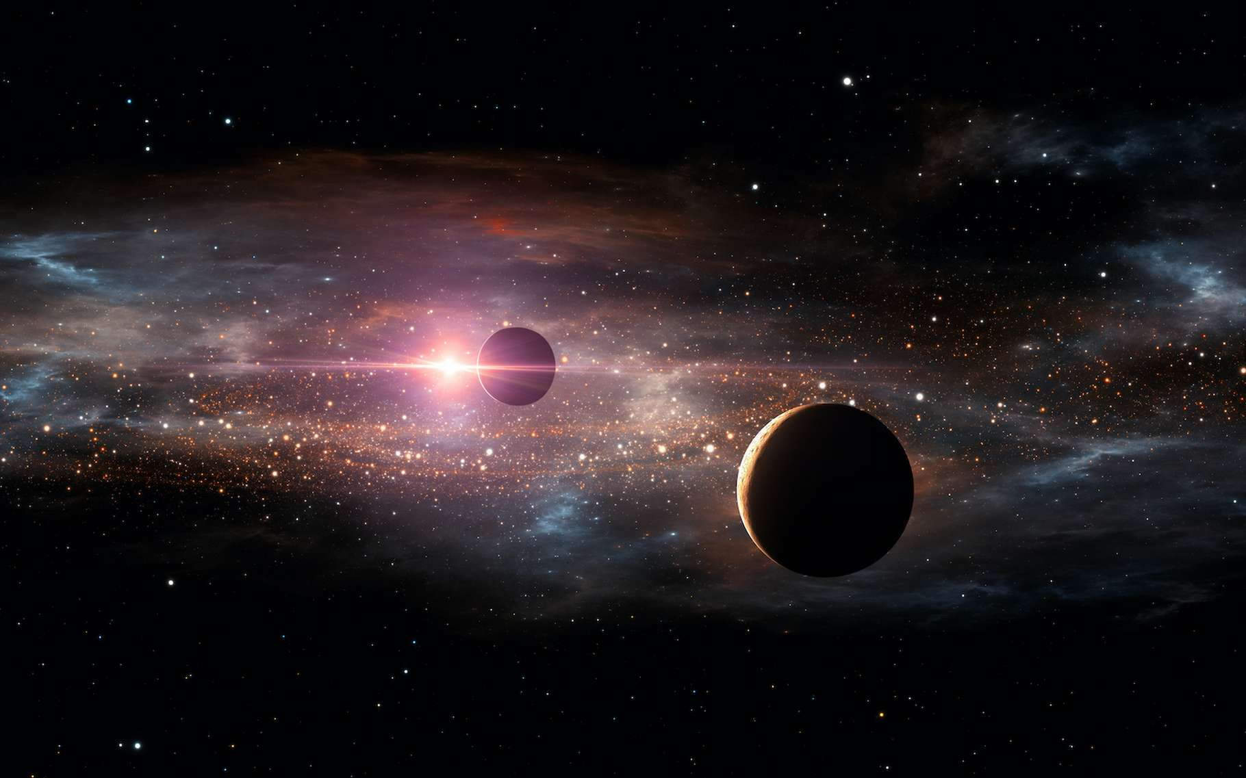 Des astronomes ont défini ce qu'ils appellent des étoiles « Boucles d'or », des étoiles plus susceptibles que les autres de voir la vie se développer sur l'une des planètes qui les entourent. © Peter Jurik, Adobe Stock
