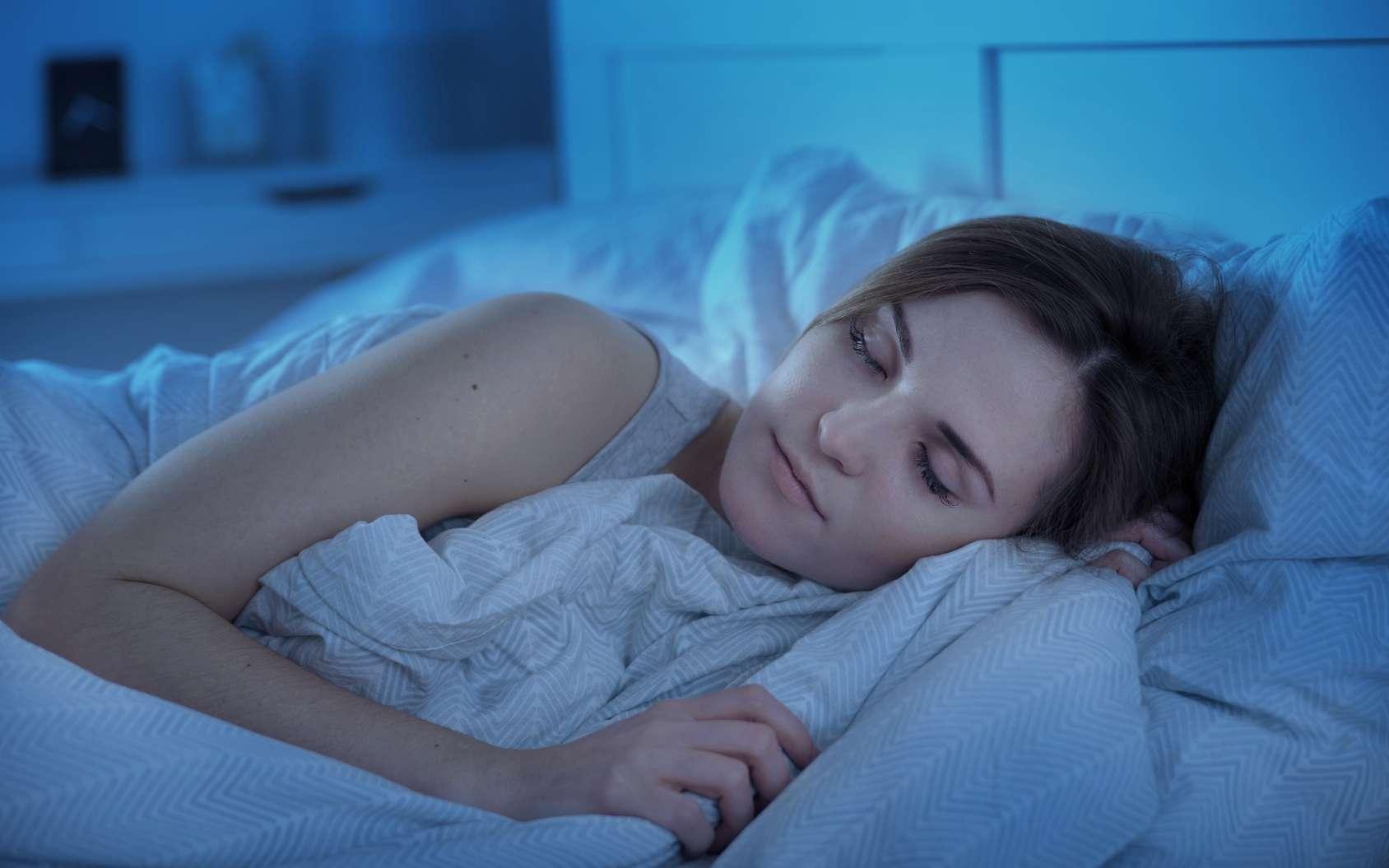 Le noyau VLPO est une zone du cerveau impliquée dans le sommeil lent. © leszekglasner, Fotolia