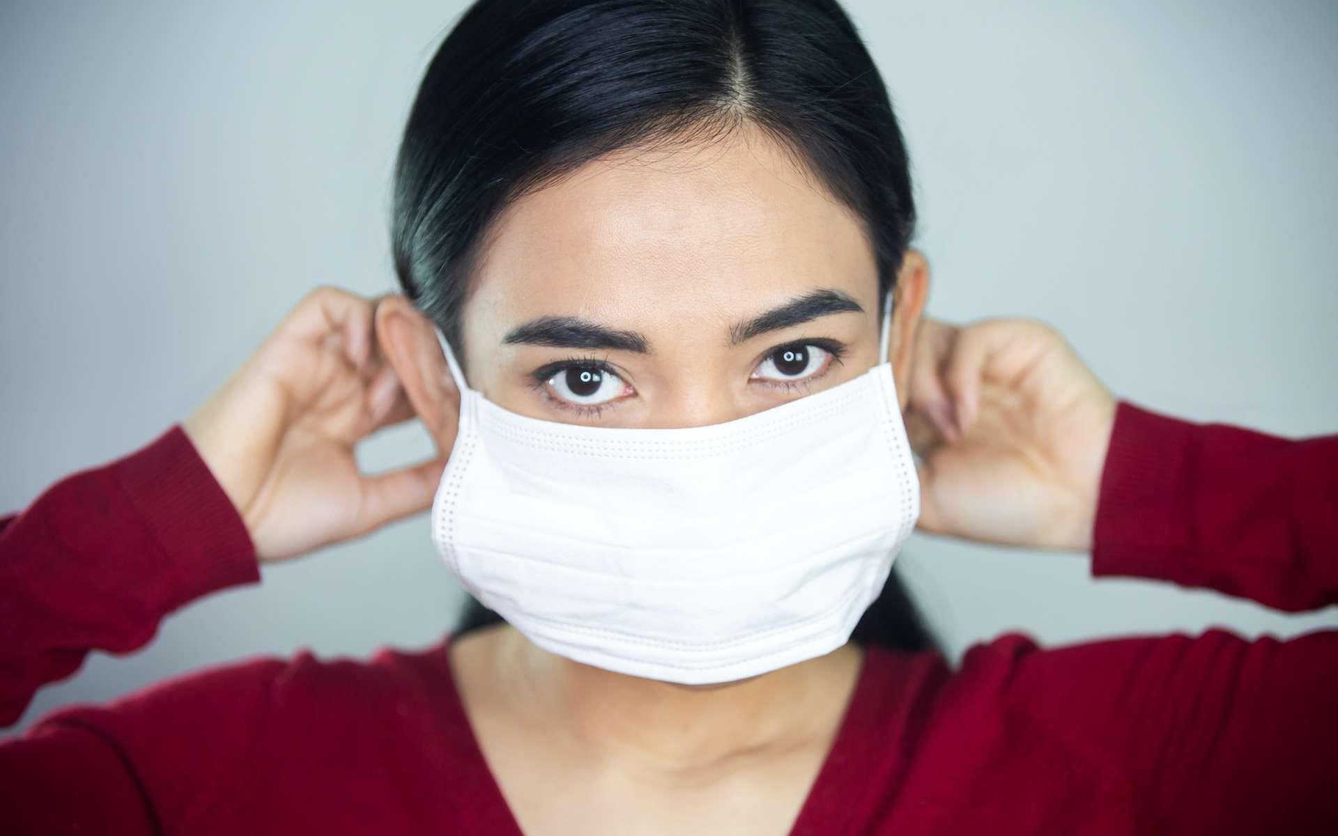 Comment bien porter son masque. © Pratiwi, Adobe Stock