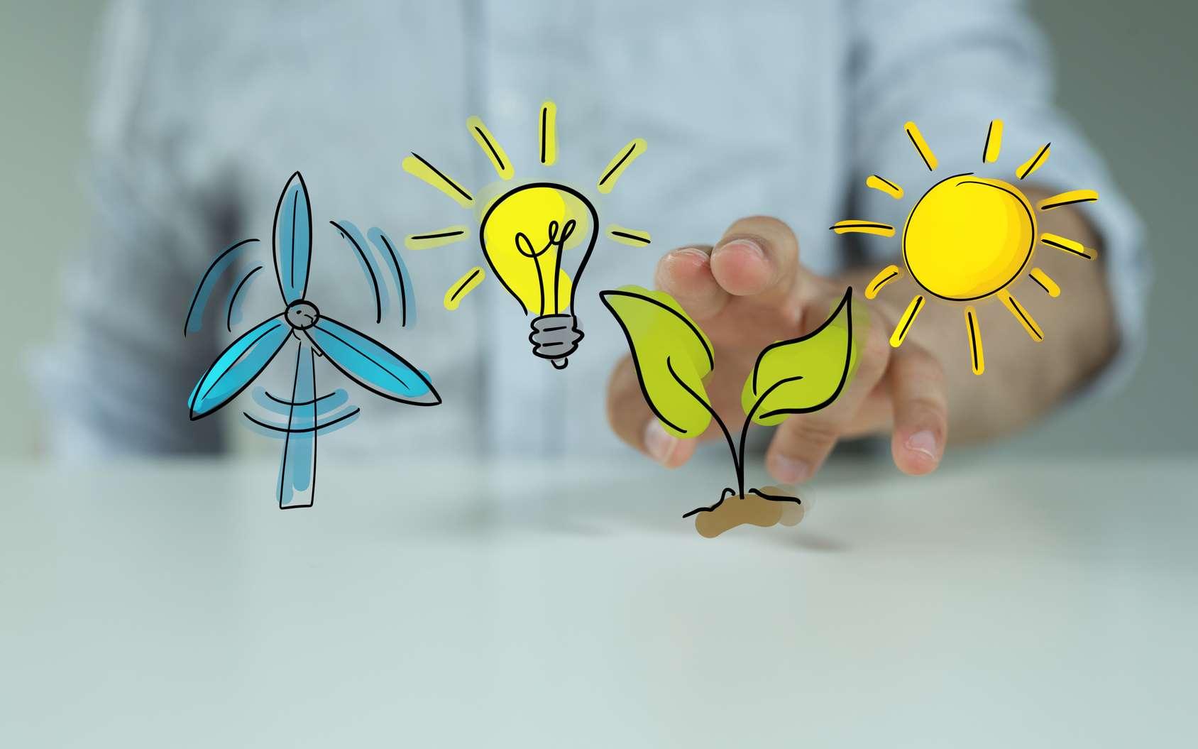 En souscrivant à un contrat vert, le consommateur n'aura pas forcément une électricité d'origine renouvelable mais encourage le développement de celle-ci. © vege, Fotolia