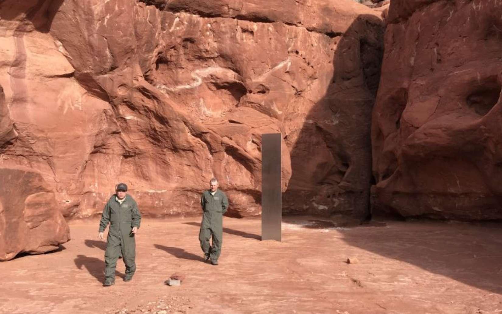 Quel est cet étrange monolithe découvert dans l'Utah ?