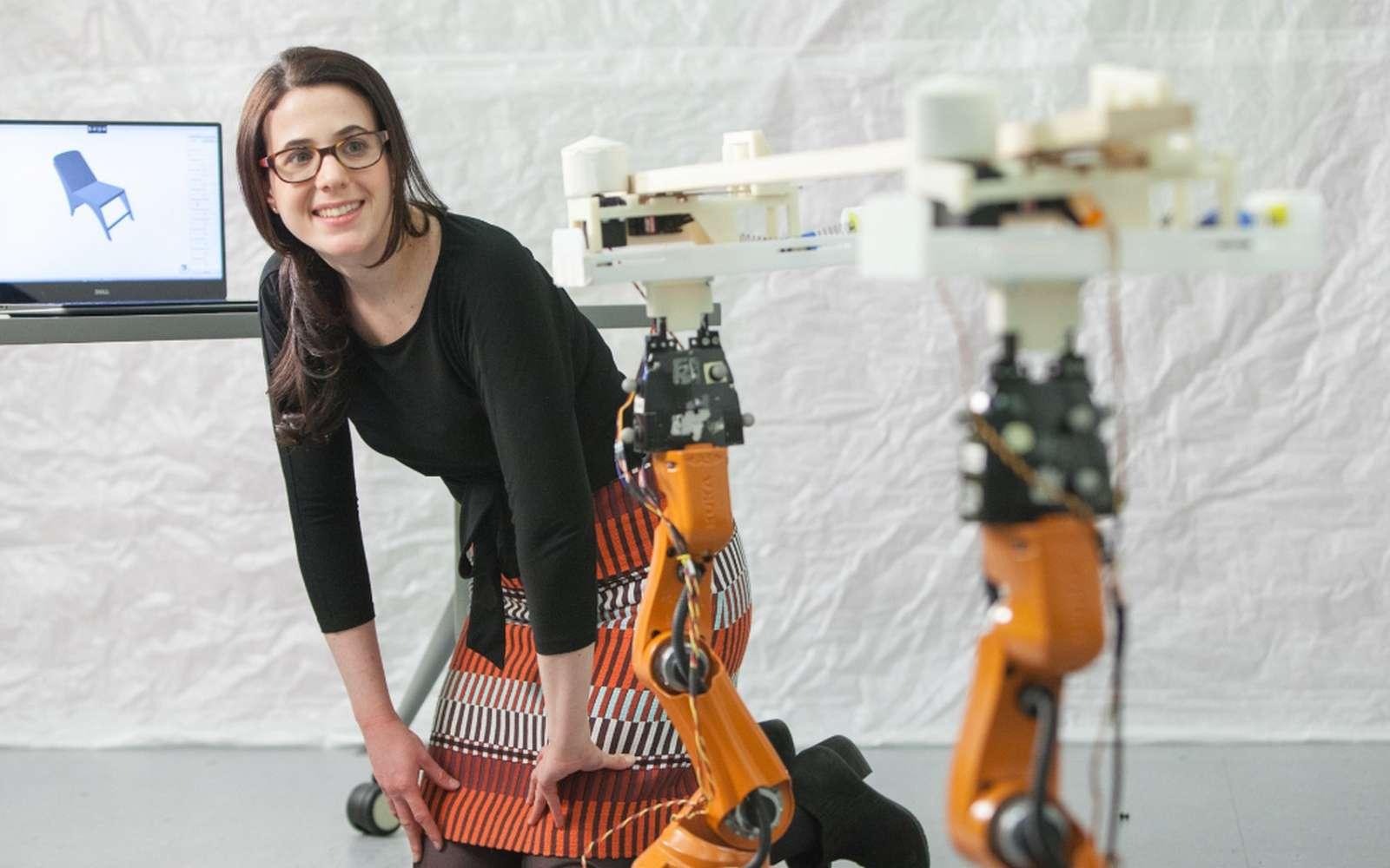 Les robots AutoSaw du MIT assurent toutes les tâches de découpage sans intervention humaine. © Jason Dorfman, MIT CSAIL