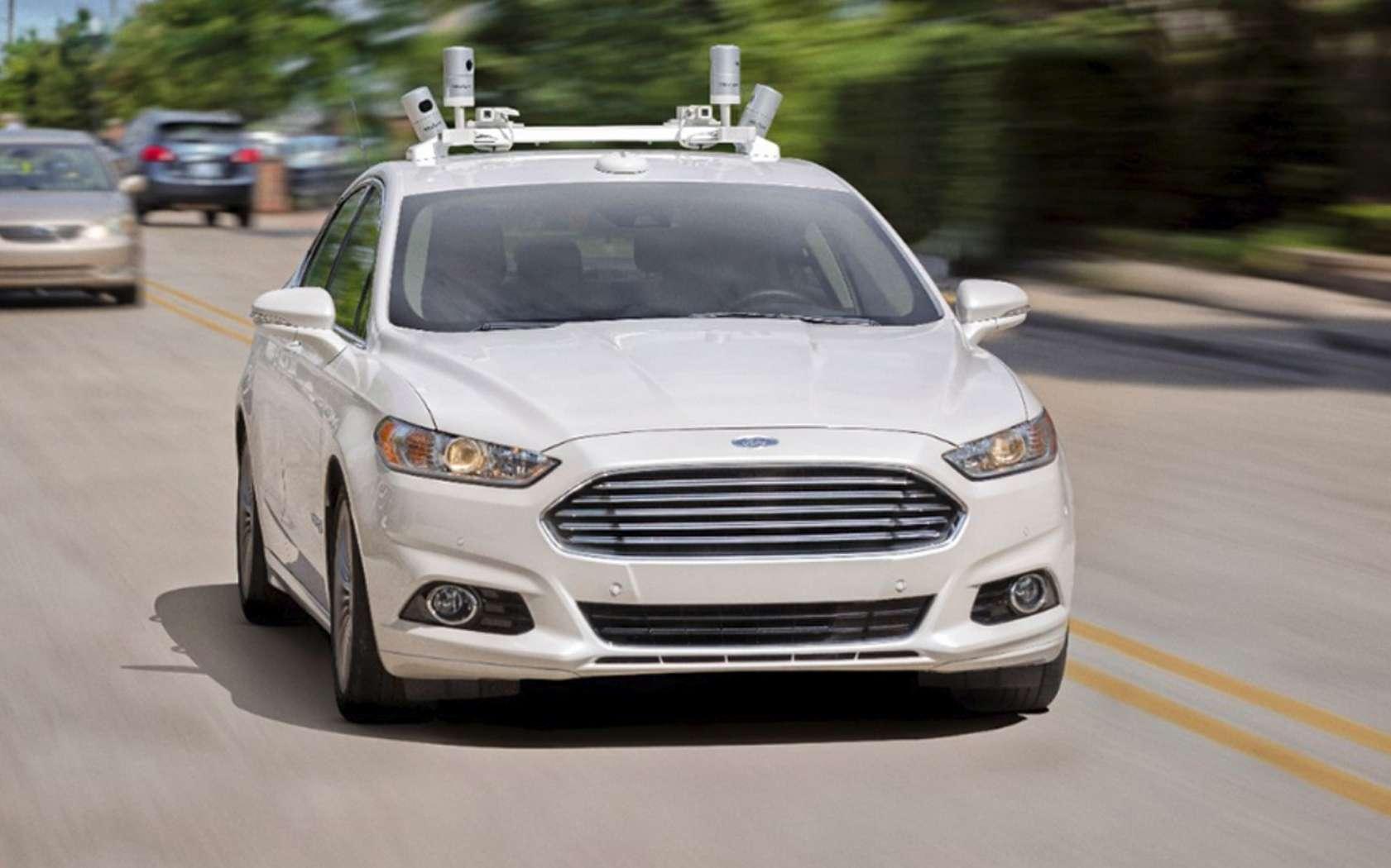 Ford compte commercialiser ses premiers véhicules autonomes dès 2021. © Ford