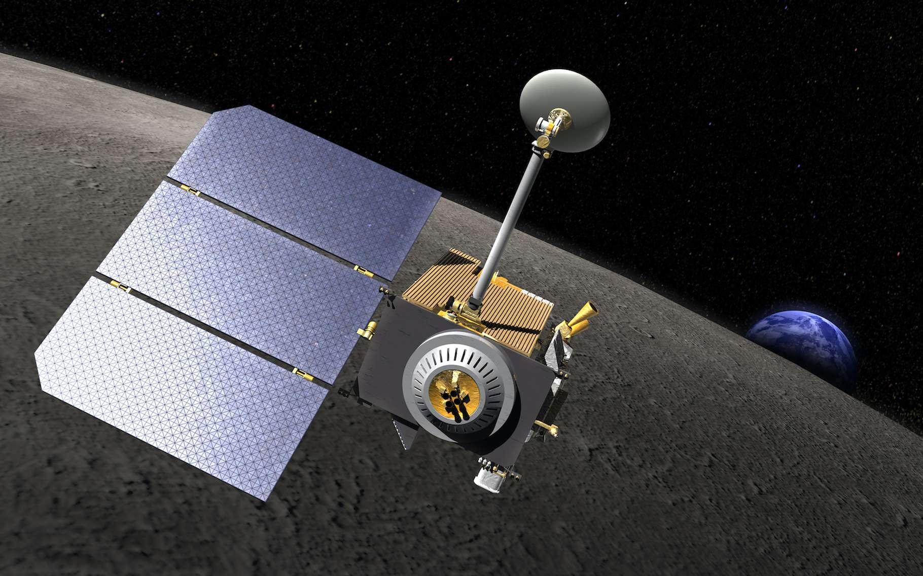 C'est grâce à des images prises par Lunar Reconnaissance Orbiter, le satellite de la Nasa, que le site du crash de la sonde indienne Vikram a enfin été retrouvé. © Nasa, Wikipedia, Domaine public