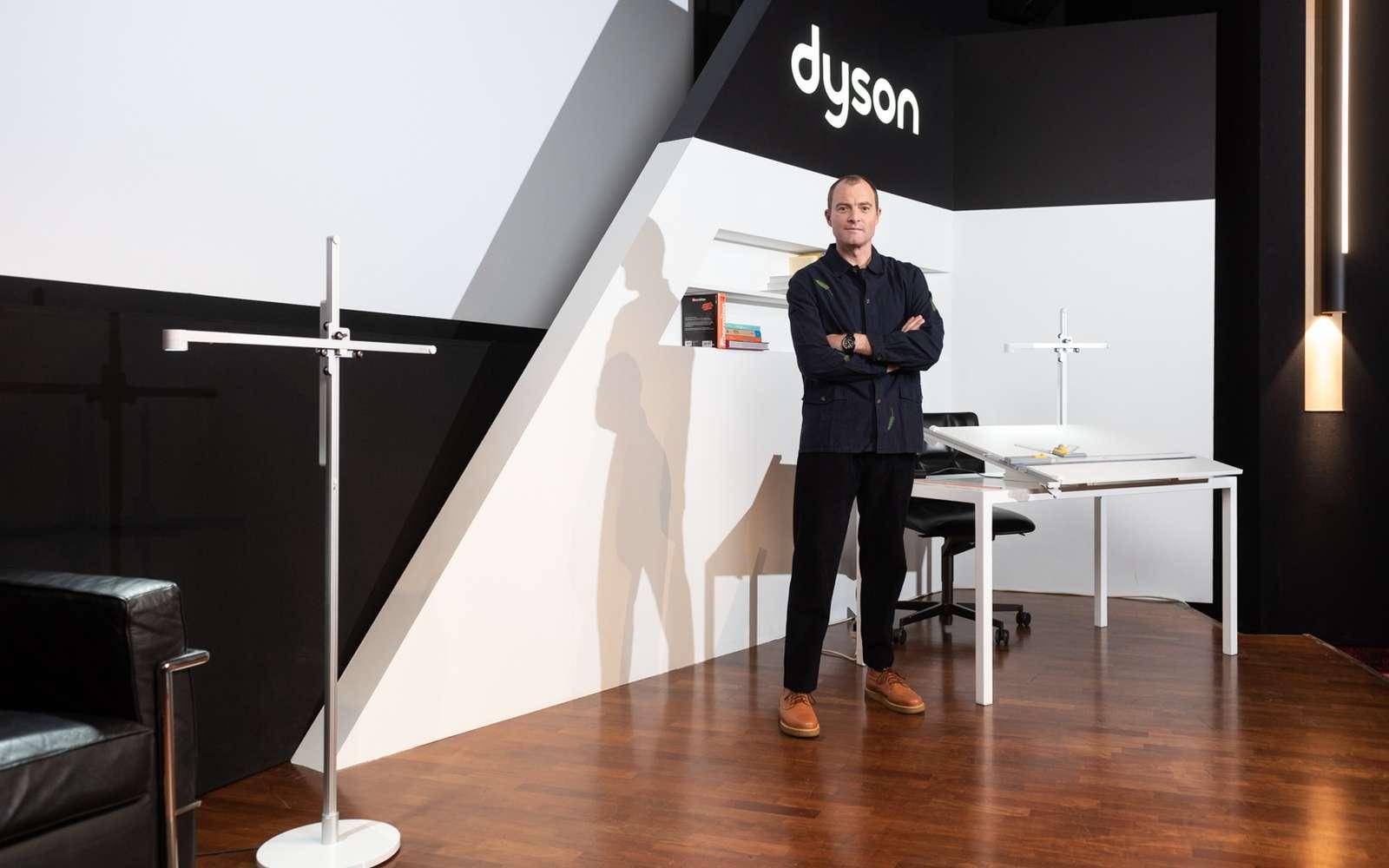 La lampe Lightcycle de Dyson a demandé deux ans de recherche et développement. © Dyson