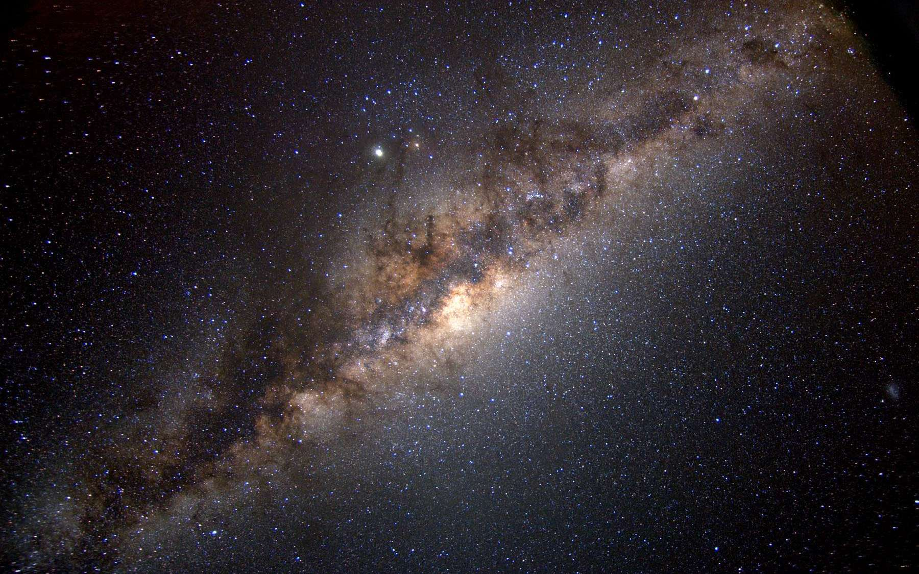 Une vue de la Voie lactée. © Serge Brunier