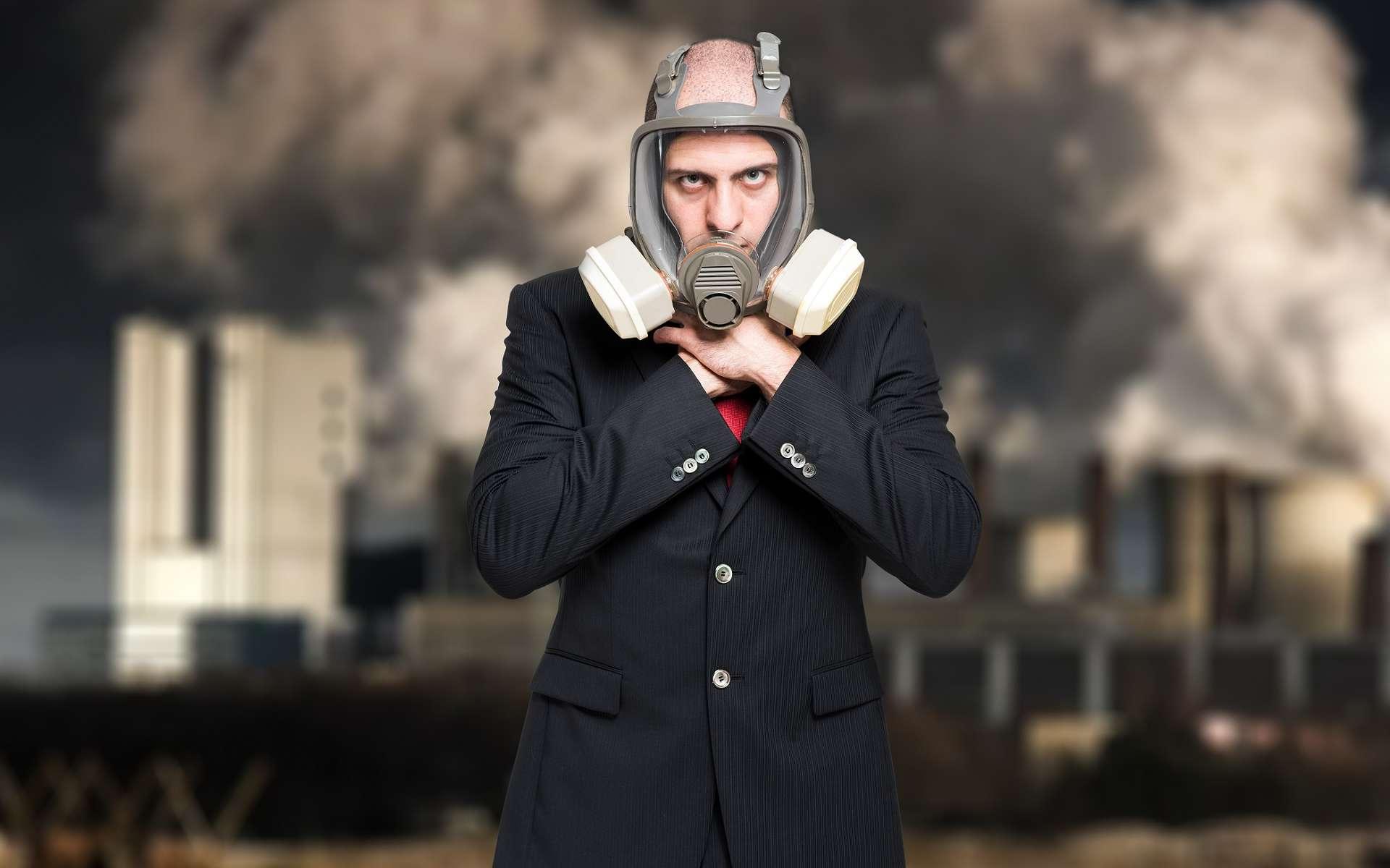 La pollution de l'air est excessive dans la majorité des villes de plus de 100.000 habitants dans le monde. © Minerva Studio, Shutterstock