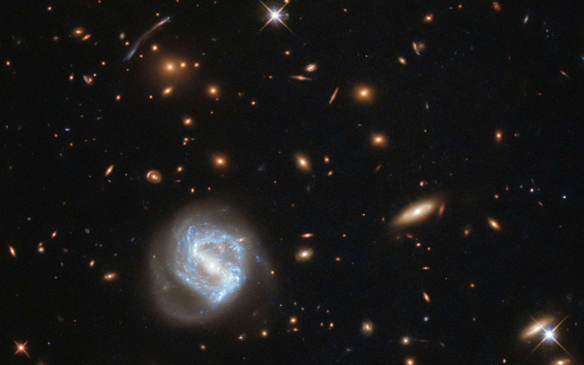 Le cluster galactique Cornucopia. © Nasa, Seti