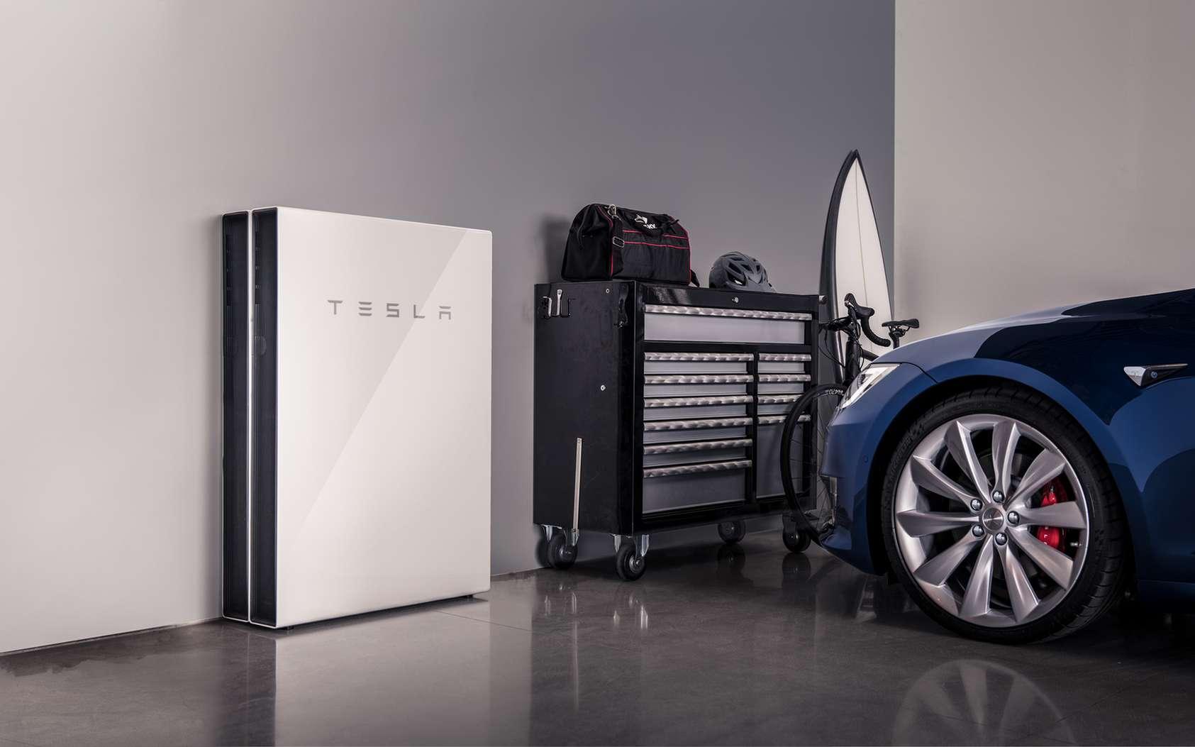 La production et le stockage d'énergie renouvelable pour les particuliers et les professionnels font partie de la stratégie de Tesla. © Tesla