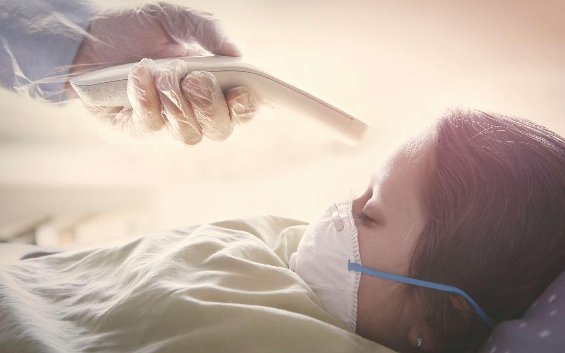 Est-ce une nouvelle maladie en lien avec le coronavirus ou bien une très rare connue sous le nom de maladie de Kawasaki, qui se trouve aggravée par la Covid-19 ? © Narvikk, Istock.com
