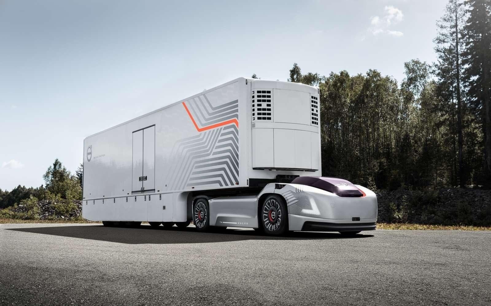 Le concept de camion autonome Vera de Volvo. © Volvo Trucks