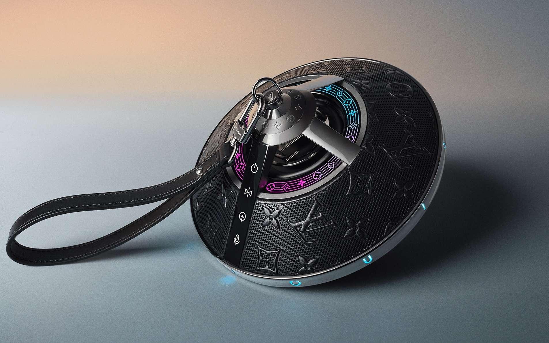 Louis Vuitton propose sa nouvelle enceinte connectée au tarif modique de 2.450 euros. © Louis Vuitton