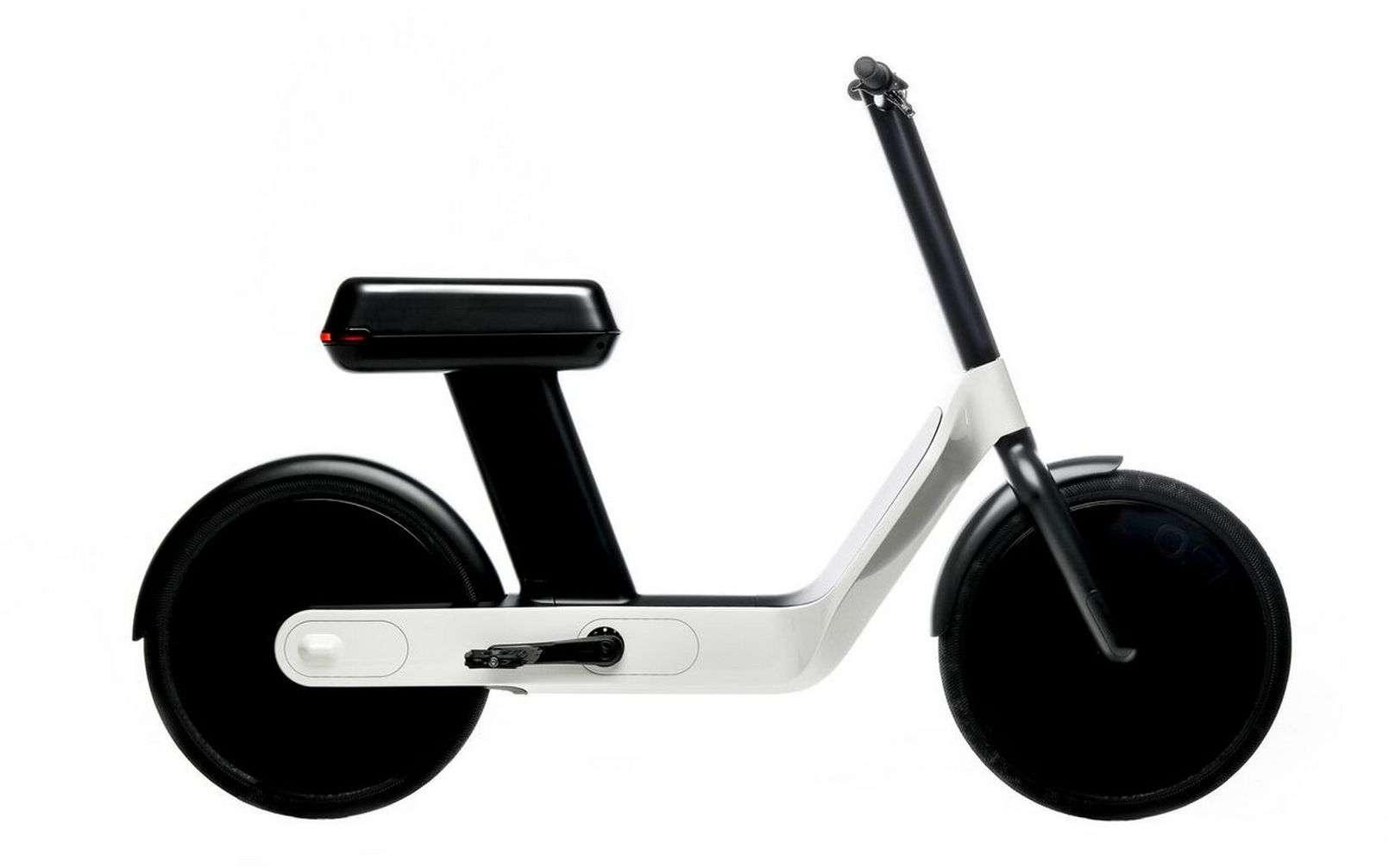 Le vélo-scooter électrique Oslo de Karmic. © Karmic