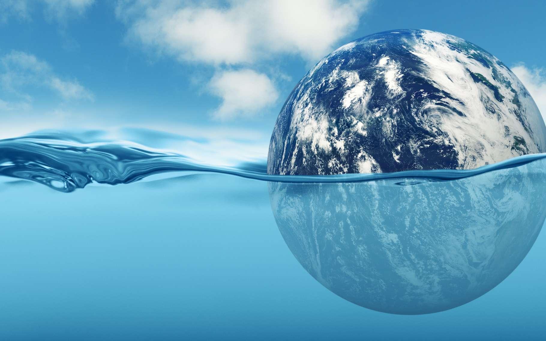 Avec le réchauffement climatique, le niveau de la mer va s'élever. © freie-kreation, Adobe Stock